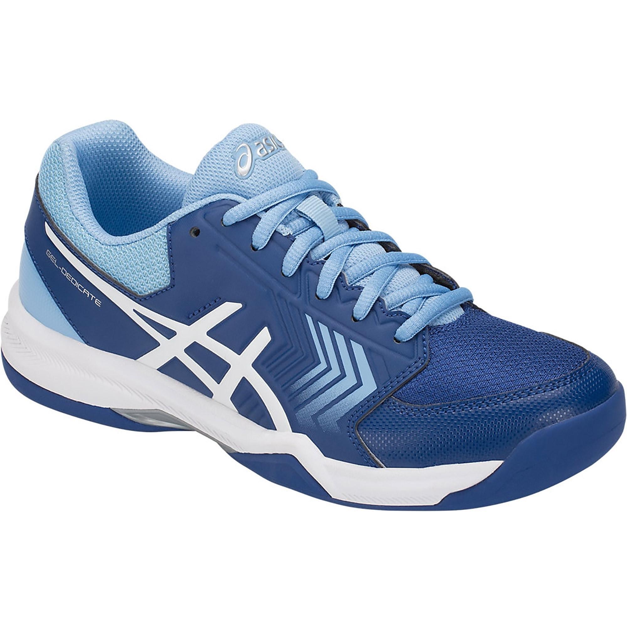 229a6789cd442a Asics Womens GEL-Dedicate 5 Carpet Tennis Shoes - Monaco Blue/White ...