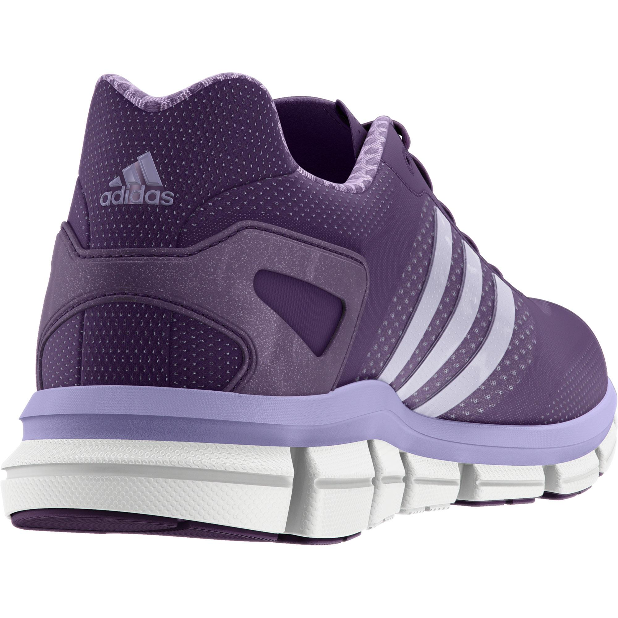 wholesale dealer 7687d 4838d Adidas Womens ClimaCool Ride Running Shoes - Tribe Purple