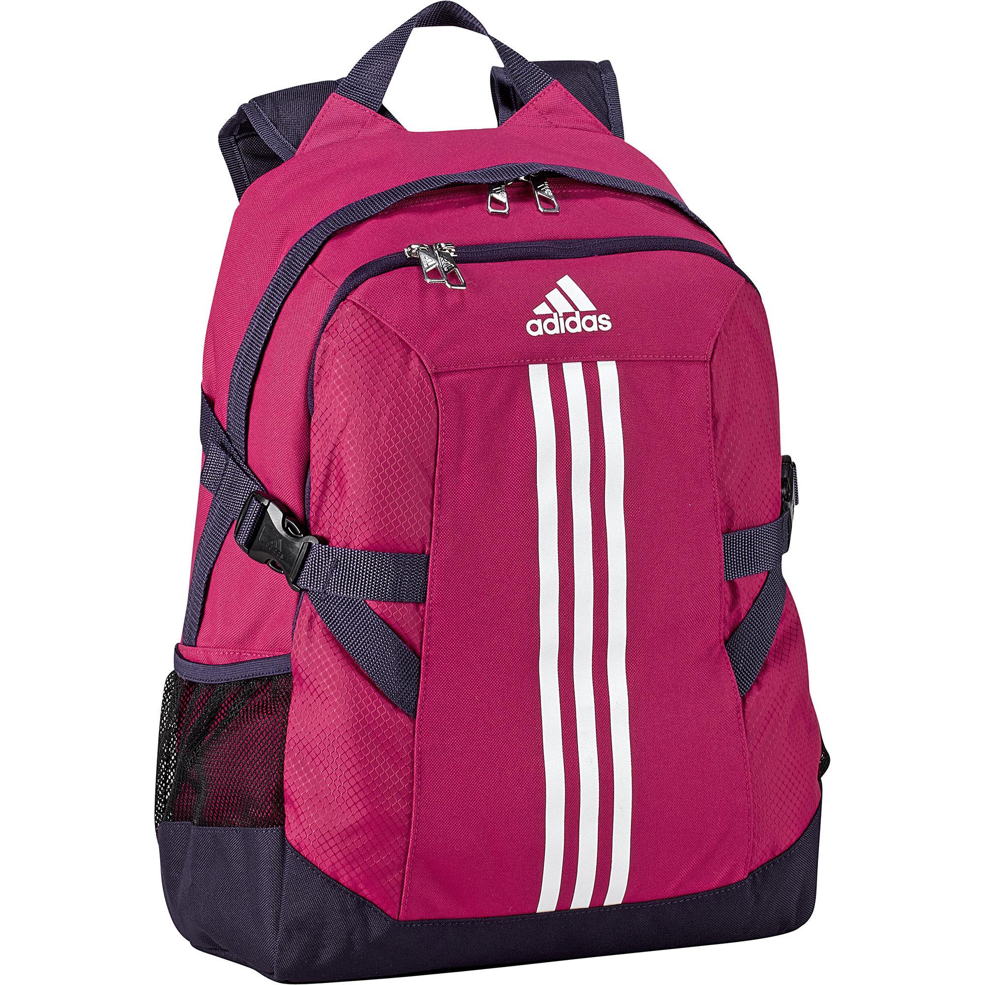 adidas power ii backpack berry pink. Black Bedroom Furniture Sets. Home Design Ideas