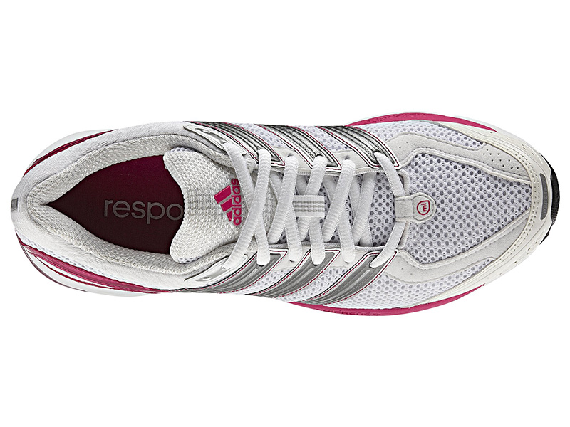 bd6288e32f6 Adidas Womens Response Cushion 21 Shoes - White Bright Pink Neo-Iron ...
