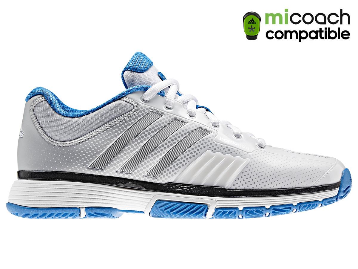 uk availability e33c3 6b214 Adidas womens adipower barricade tennis shoes white jpg 1200x900 Adidas  womens tennis shoes blue