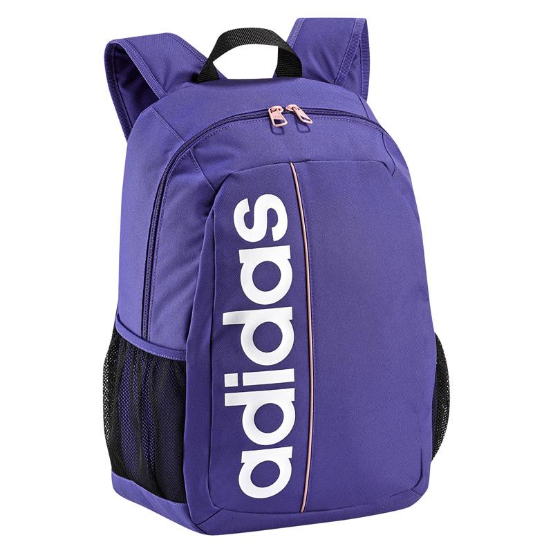 b76454cc1ed2 Adidas Linear Essentials Backpack - Blast Purple Pink - Tennisnuts.com