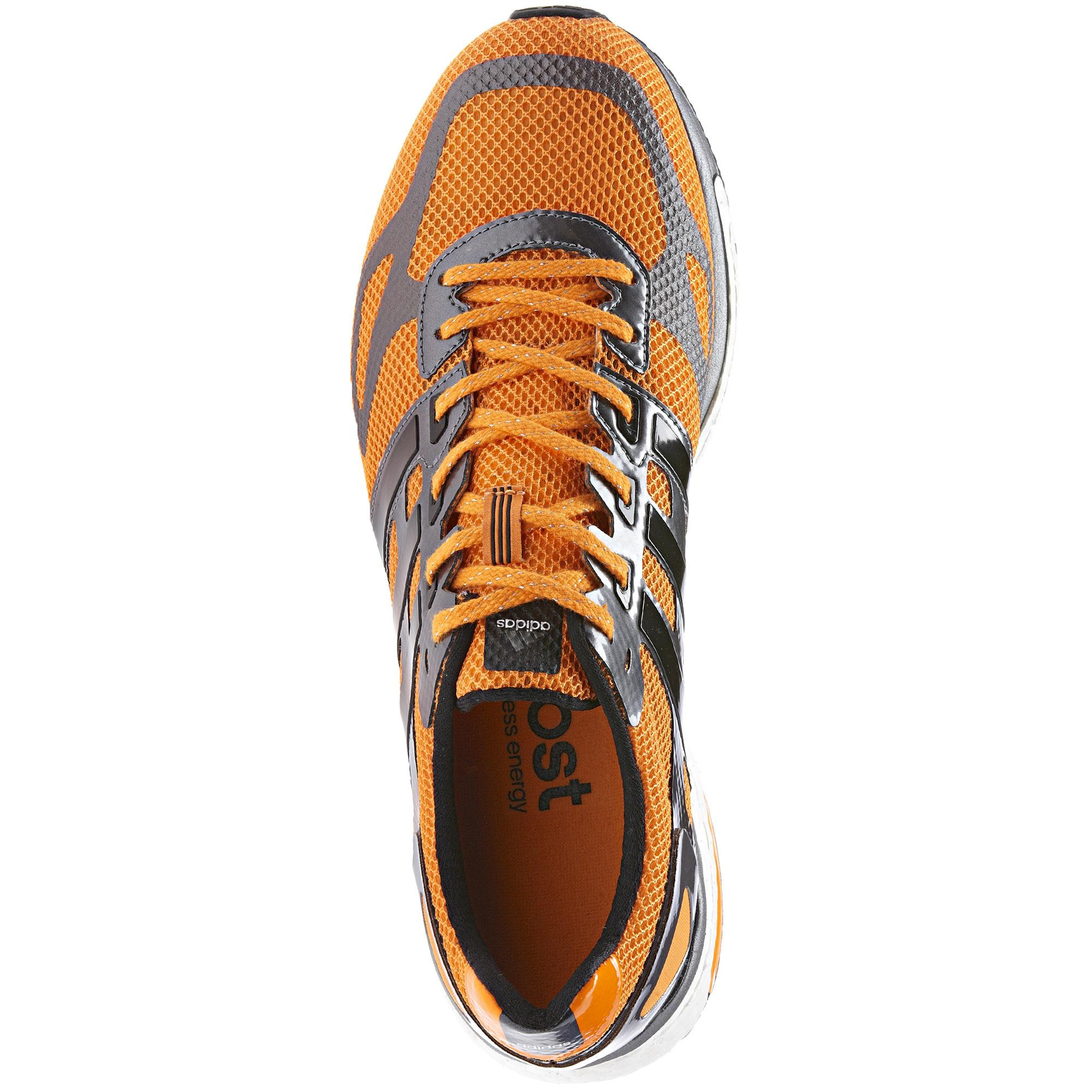 Adidas Adizero Adios Stimuler Chaussures Hommes Zeste / Noir pdOosOXaWx