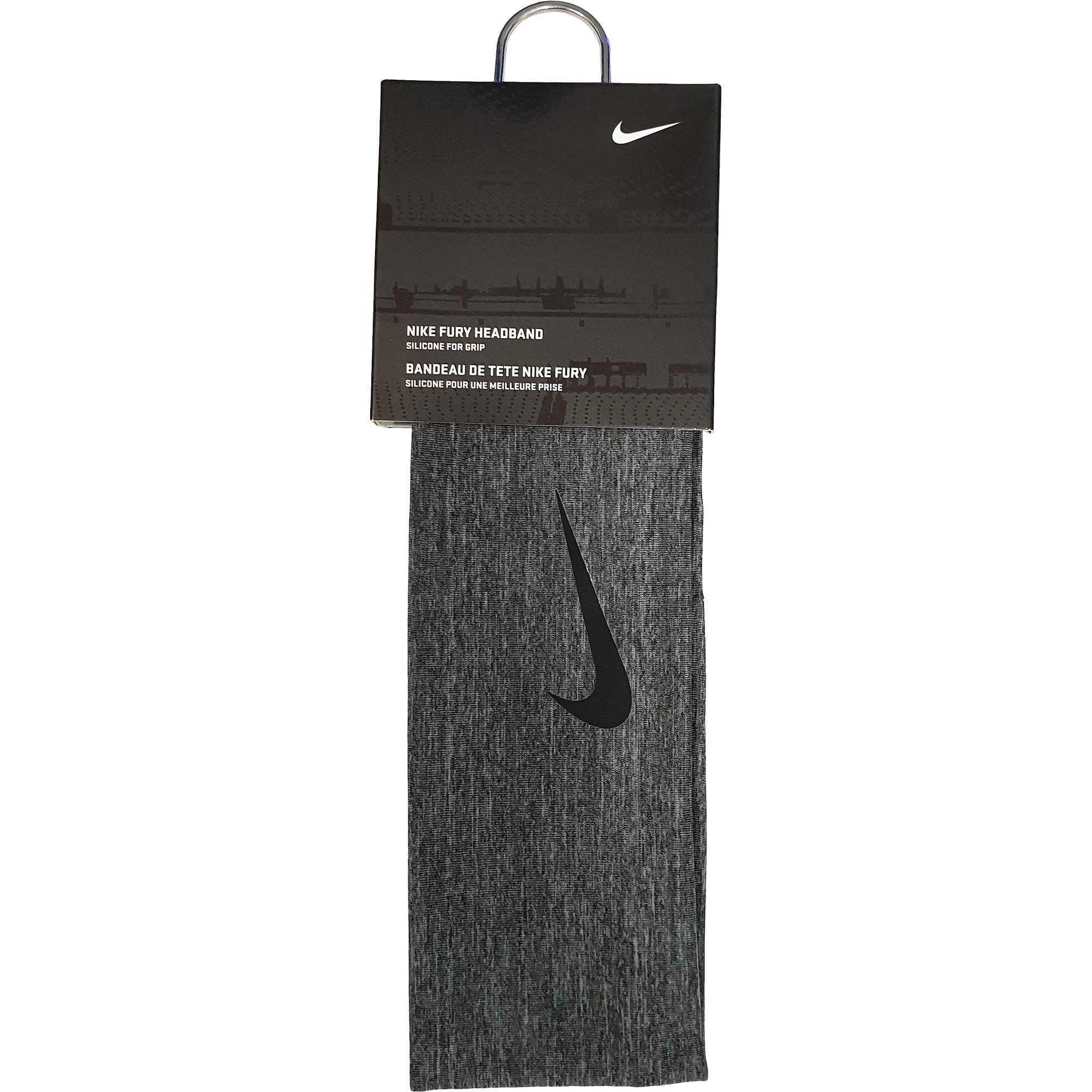 Nike Fury Headband 2.0 - Charcoal Heather Black - Tennisnuts.com fa8277dc317