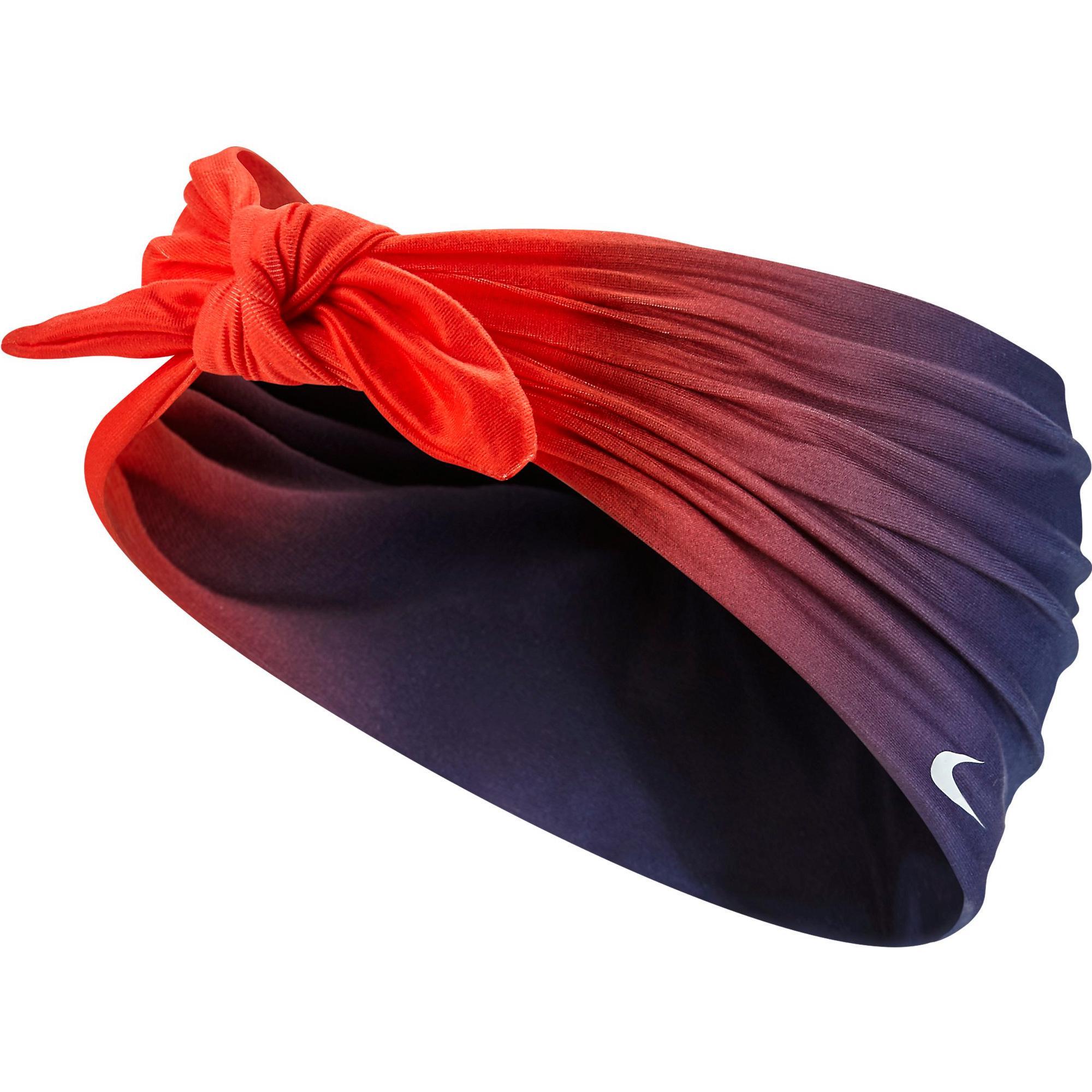 Nike Printed Central Headband - Red Purple - Tennisnuts.com be6b9eb009e