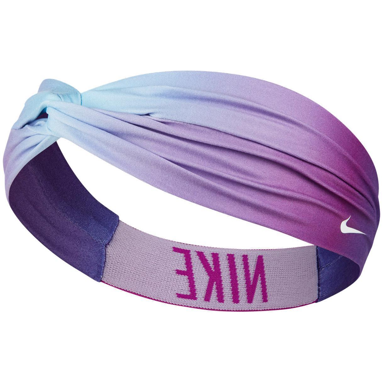 Nike Logo Twist Headband - Blue Purple - Tennisnuts.com f14238b3e55