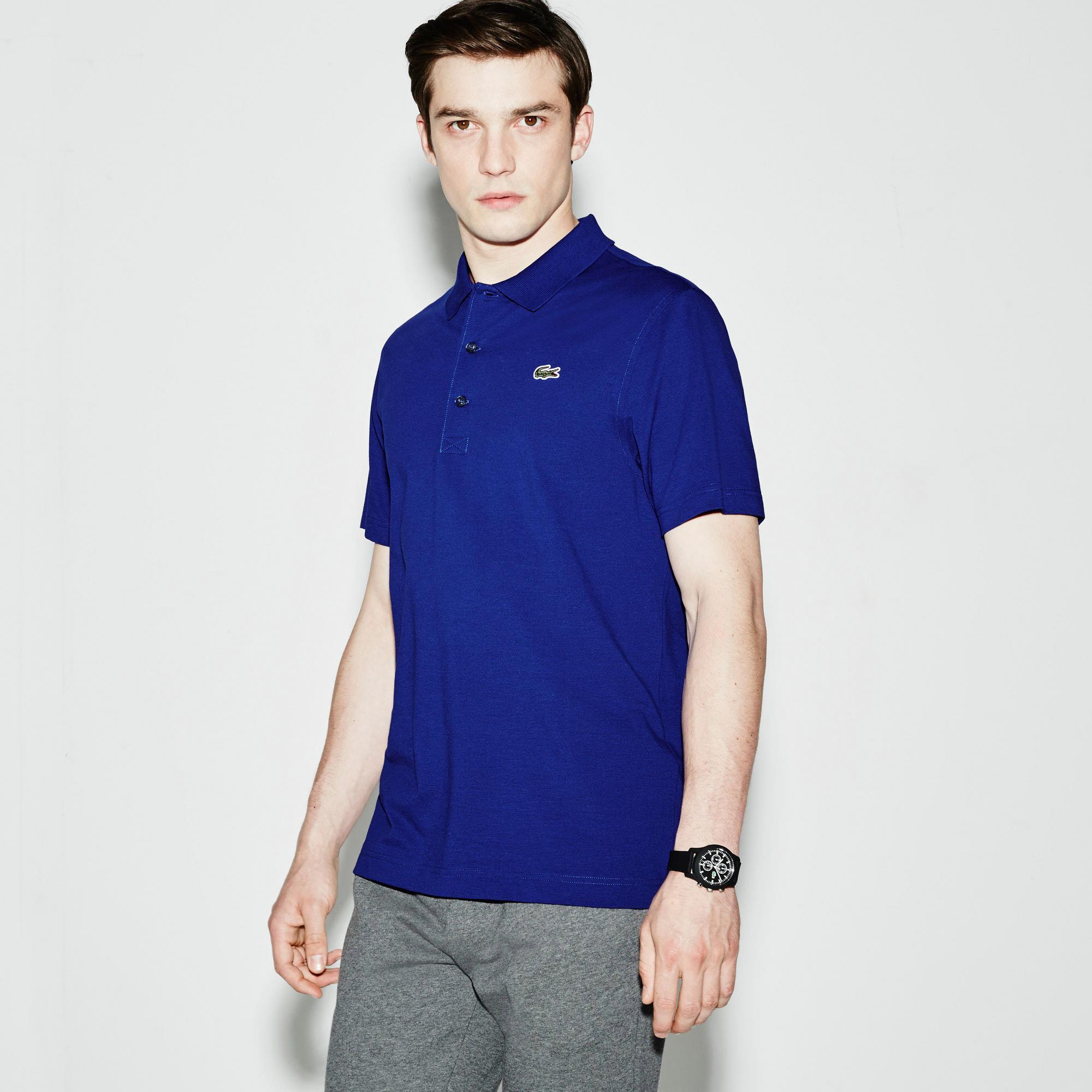 lacoste sport mens superlight short sleeve polo france blue. Black Bedroom Furniture Sets. Home Design Ideas
