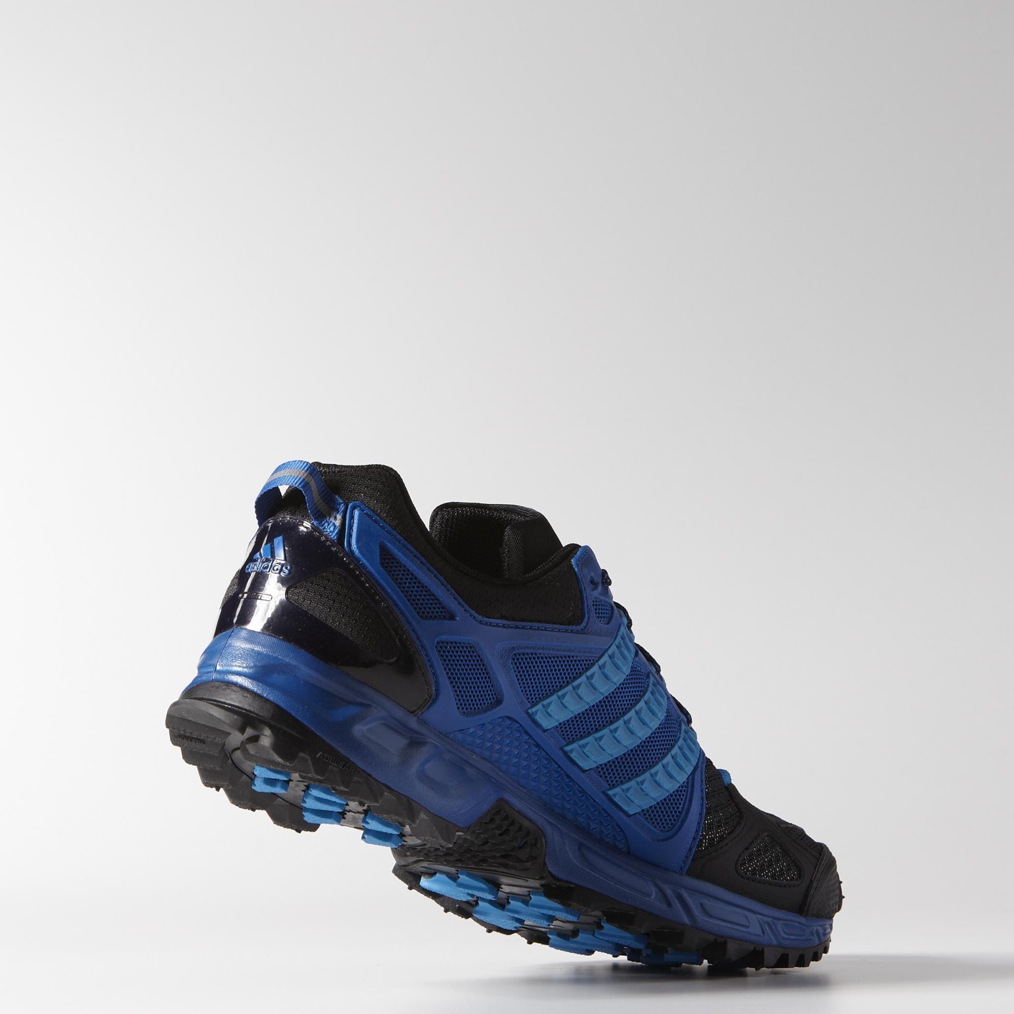 Adidas Mens Kanadia Tr 6 Running Shoes Solar BlueBlue Beauty