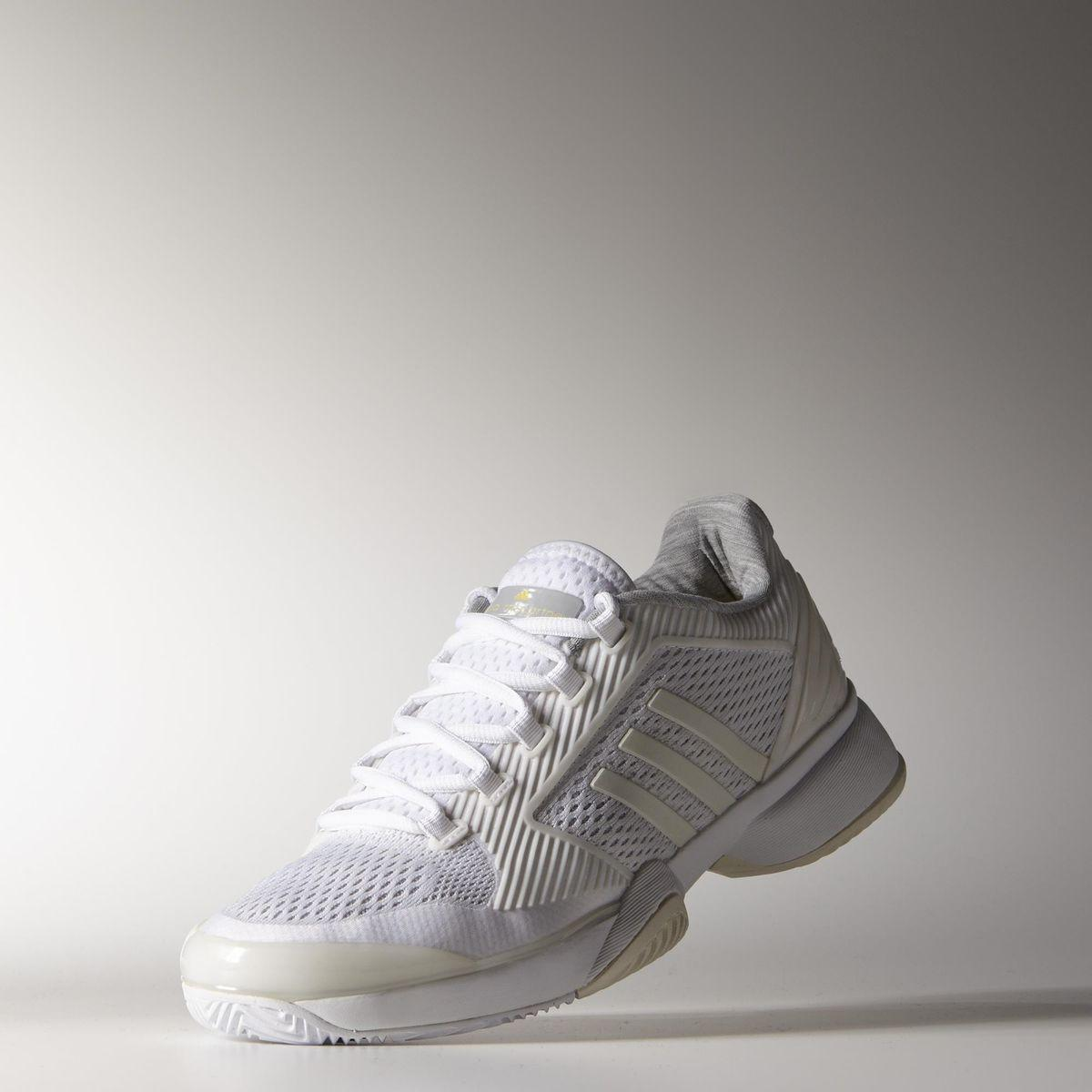 adidas womens stella mccartney barrikade 2015 tennisschuhe white