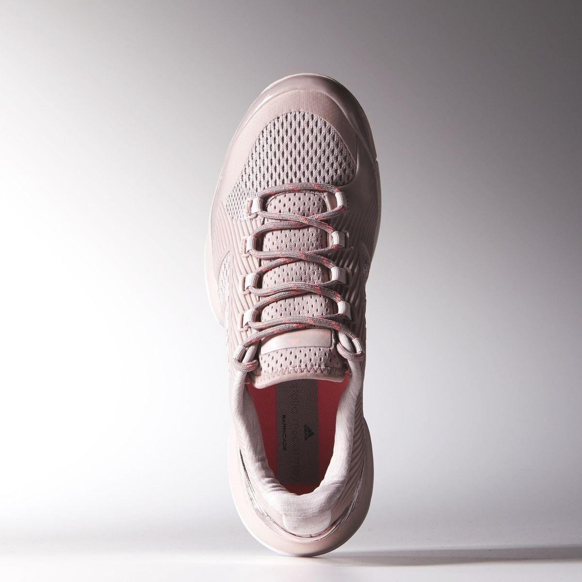 4bb771b0aed11 Adidas Womens Stella McCartney Barricade 2015 Tennis Shoes - Light Pink