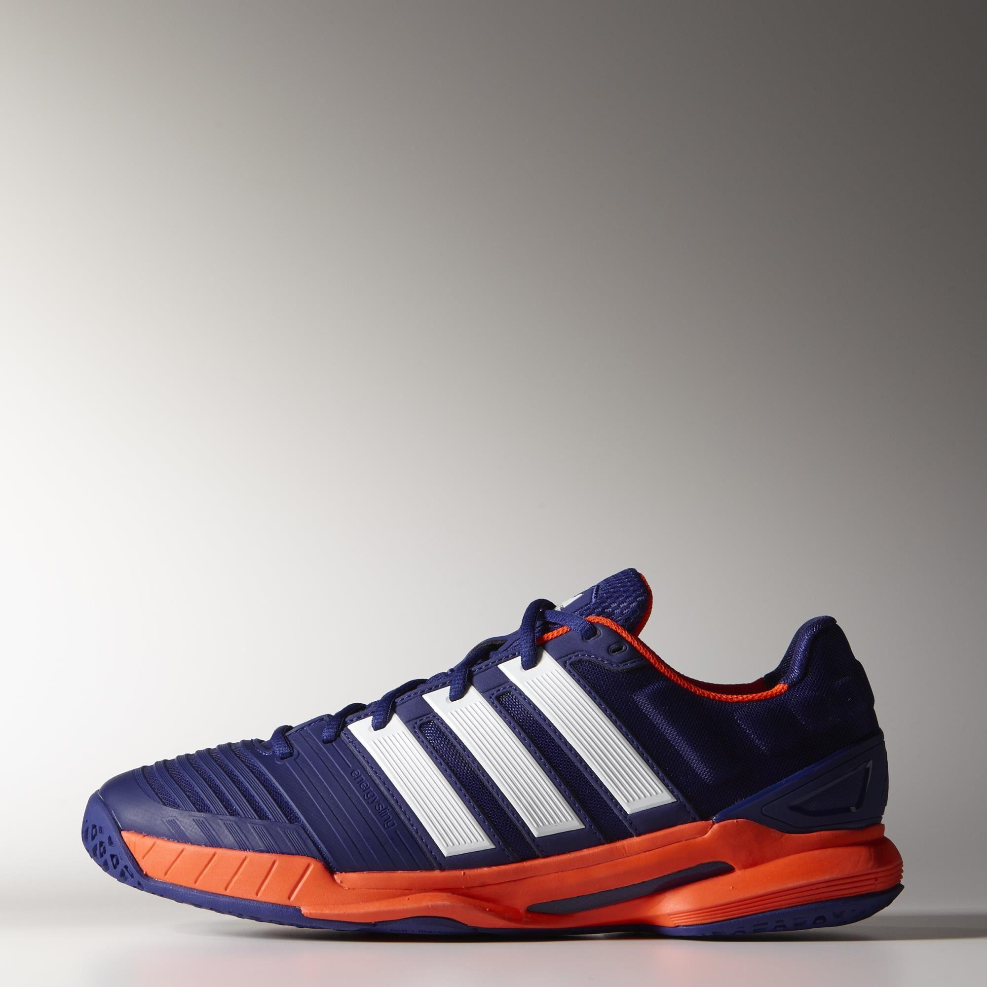 Adidas Mens adiPower Stabil 11 Indoor Shoes - Purple Red - Tennisnuts.com 7a8658d16a597