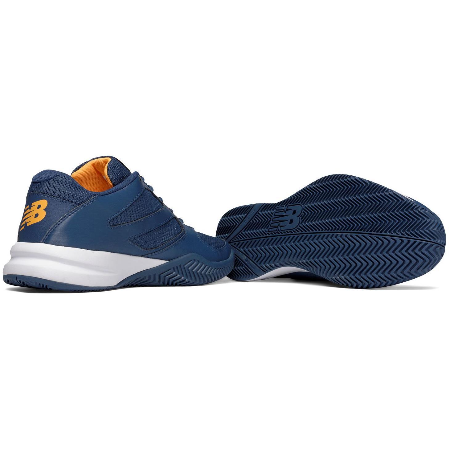 new balance tennis shoes. new balance mens 696v2 tennis shoes - blue (d) s
