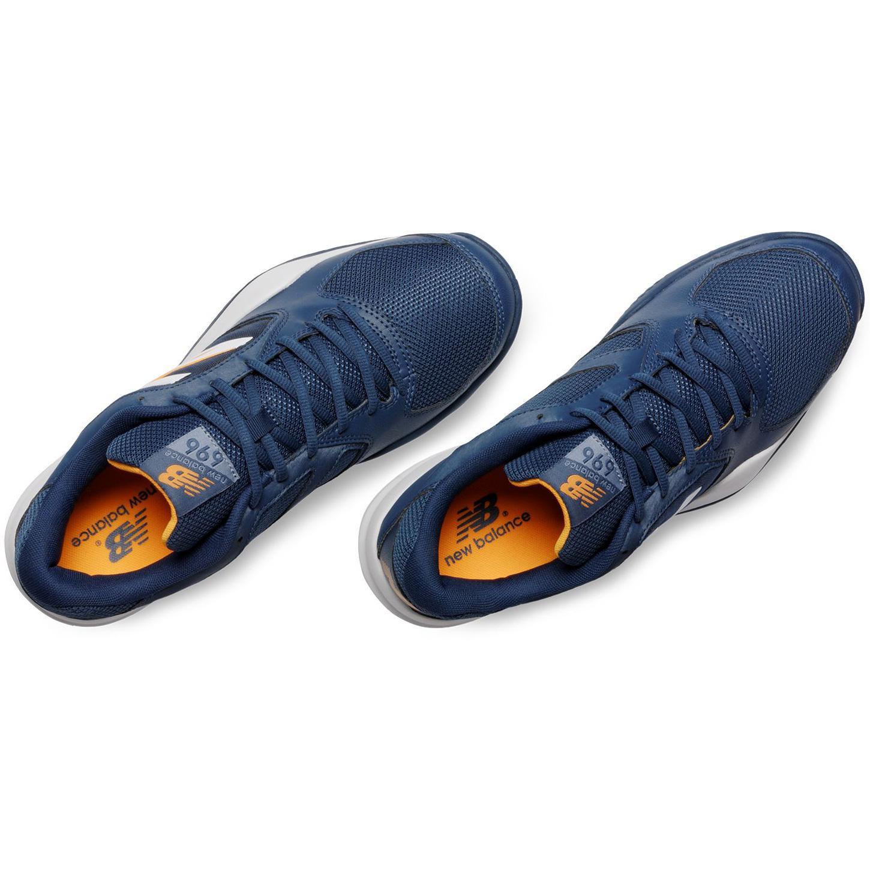 best website 1240f b3176 New Balance Mens 696v2 Tennis Shoes - Blue (D)