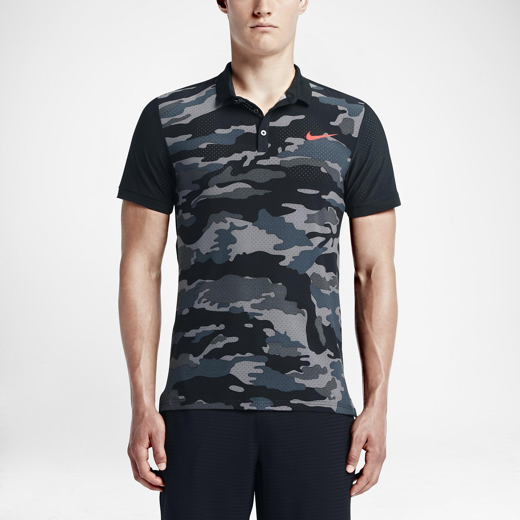 nike camouflage tennis shirt