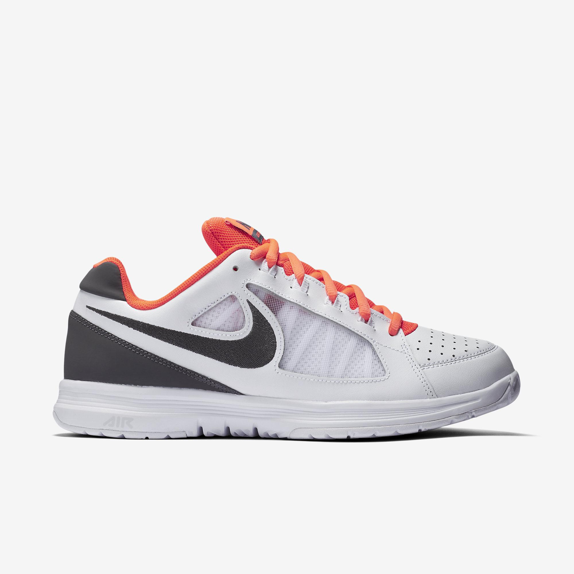 best service 0ae6a 769fa Nike Mens Air Vapor Ace Tennis Shoes - White Grey - Tennisnuts.com