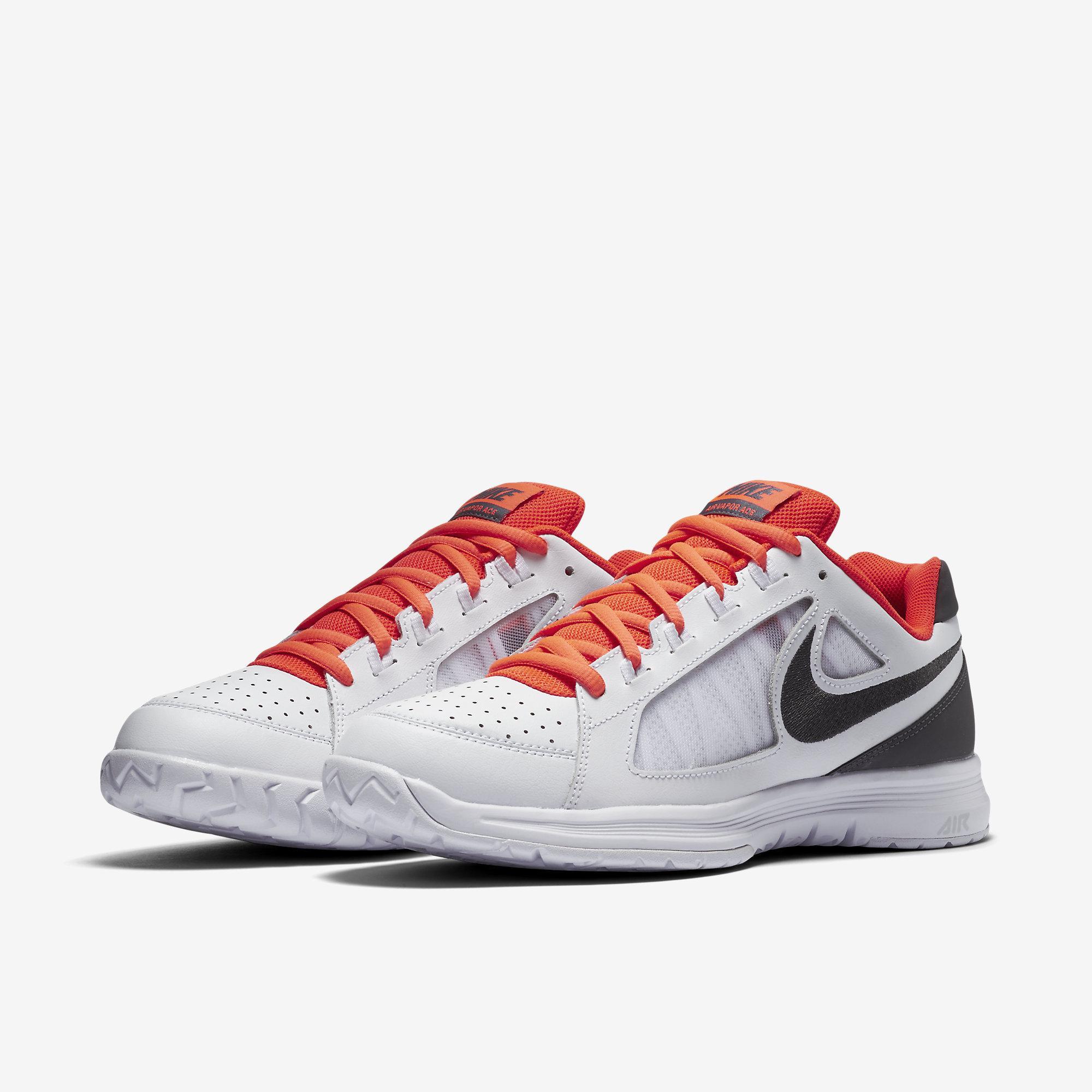 6eb56694d82c0 Nike Mens Air Vapor Ace Tennis Shoes - White Grey - Tennisnuts.com