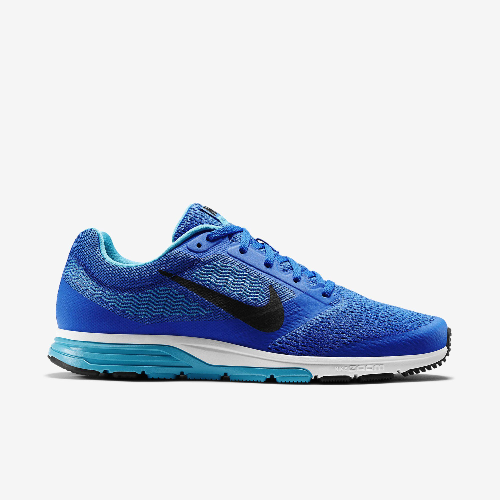3f360f6b4f9 Nike Mens Air Zoom Fly 2 Running Shoes - Blue - Tennisnuts.com