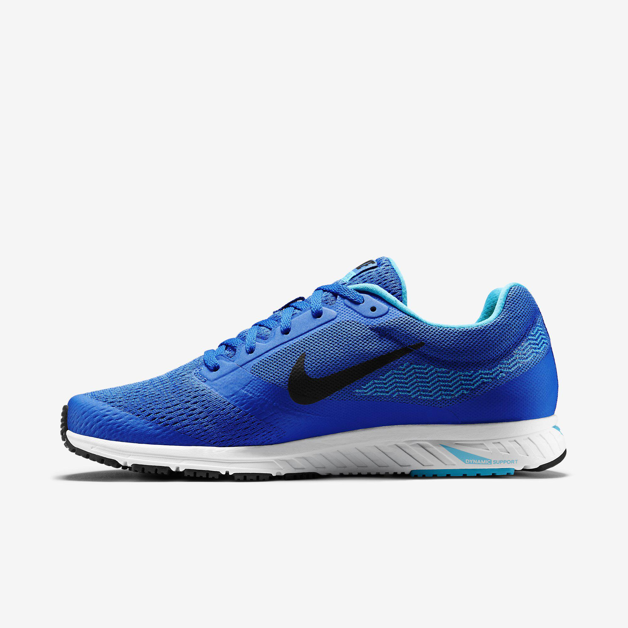 Nike Mens Air Zoom Fly 2 Running Shoes - Blue - Tennisnuts.com