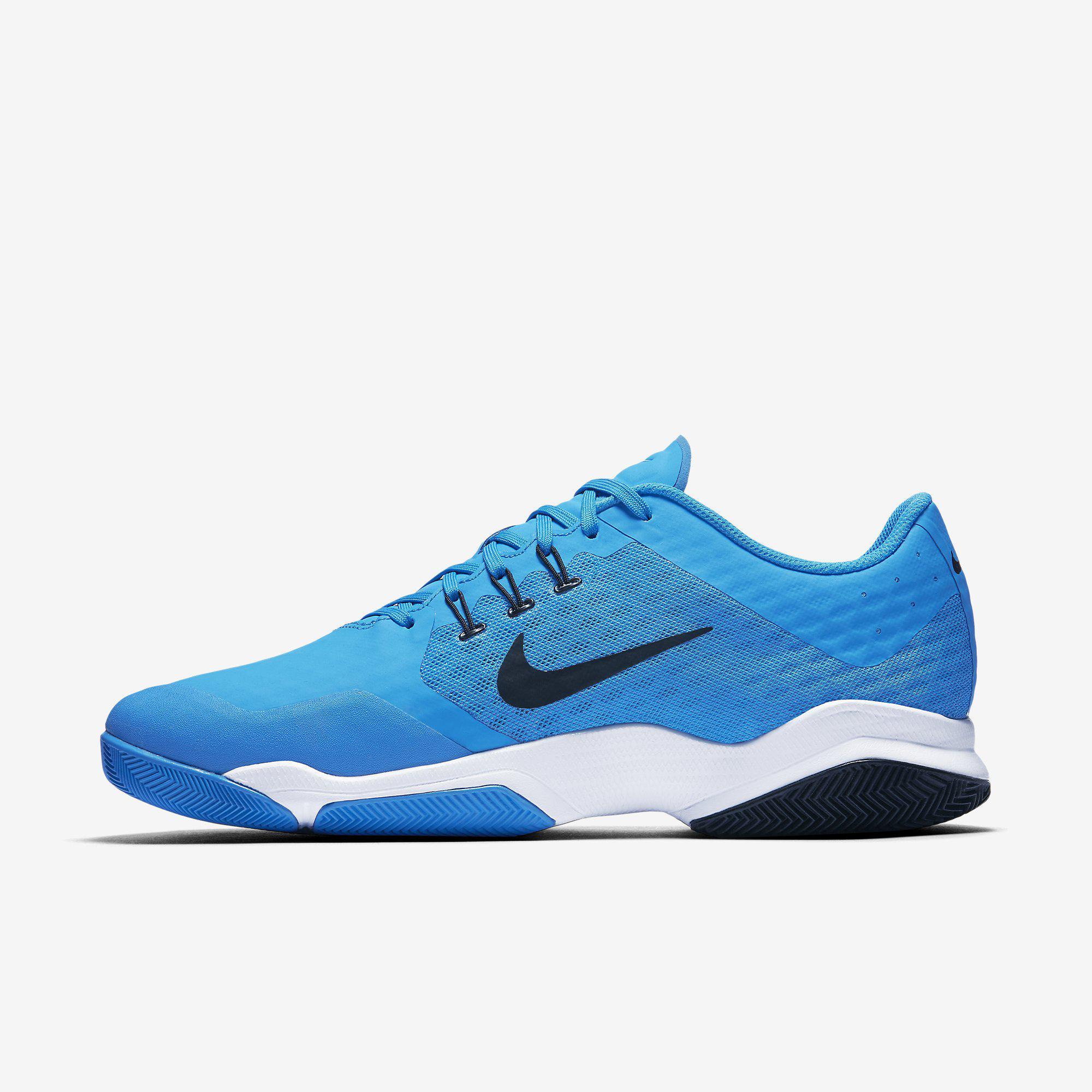 08eab92eb75ca Nike Mens Air Zoom Ultra Tennis Shoes - Blue Glow Black - Tennisnuts.com