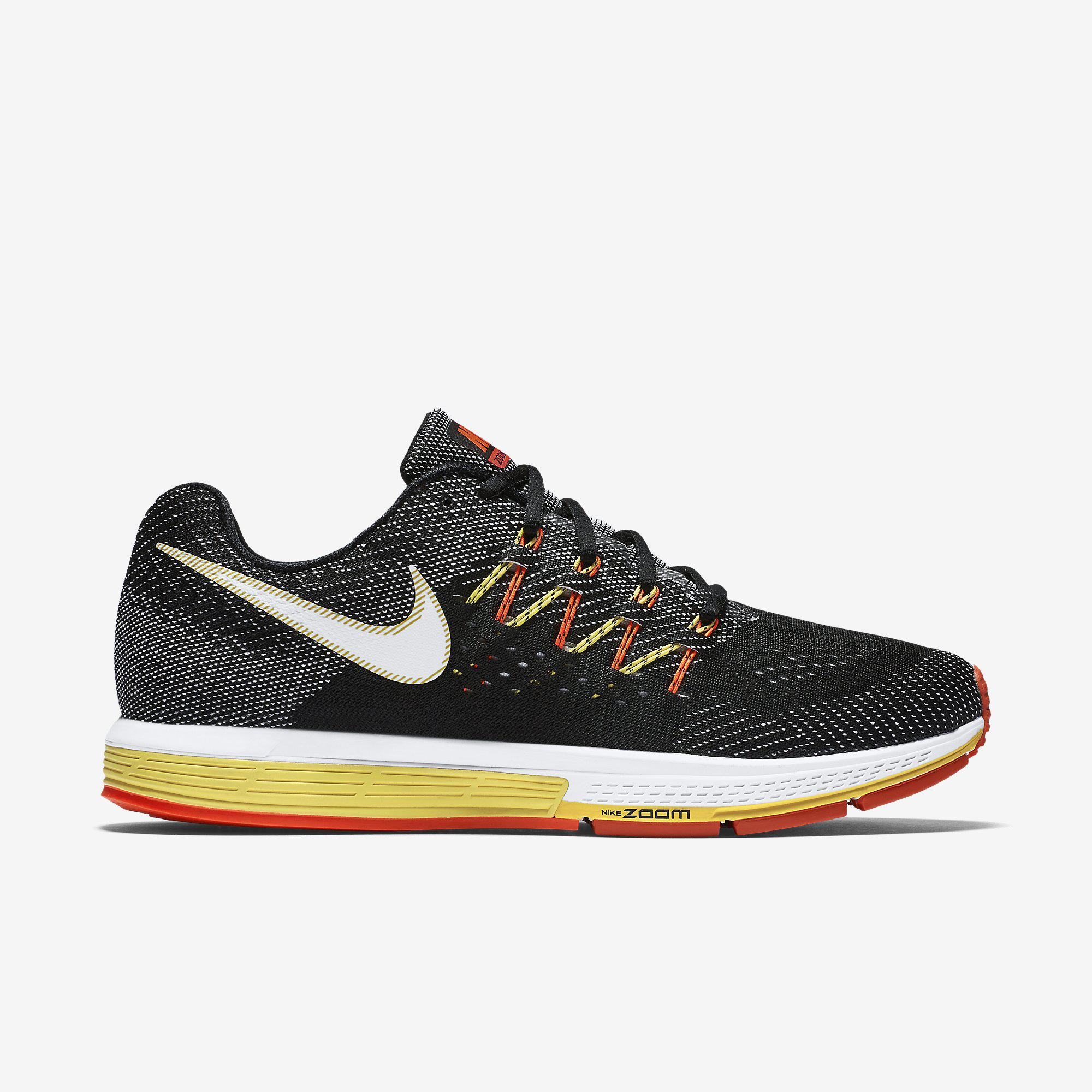 Nike Mens Air Zoom Vomero 10 Running Shoes - Black/Total