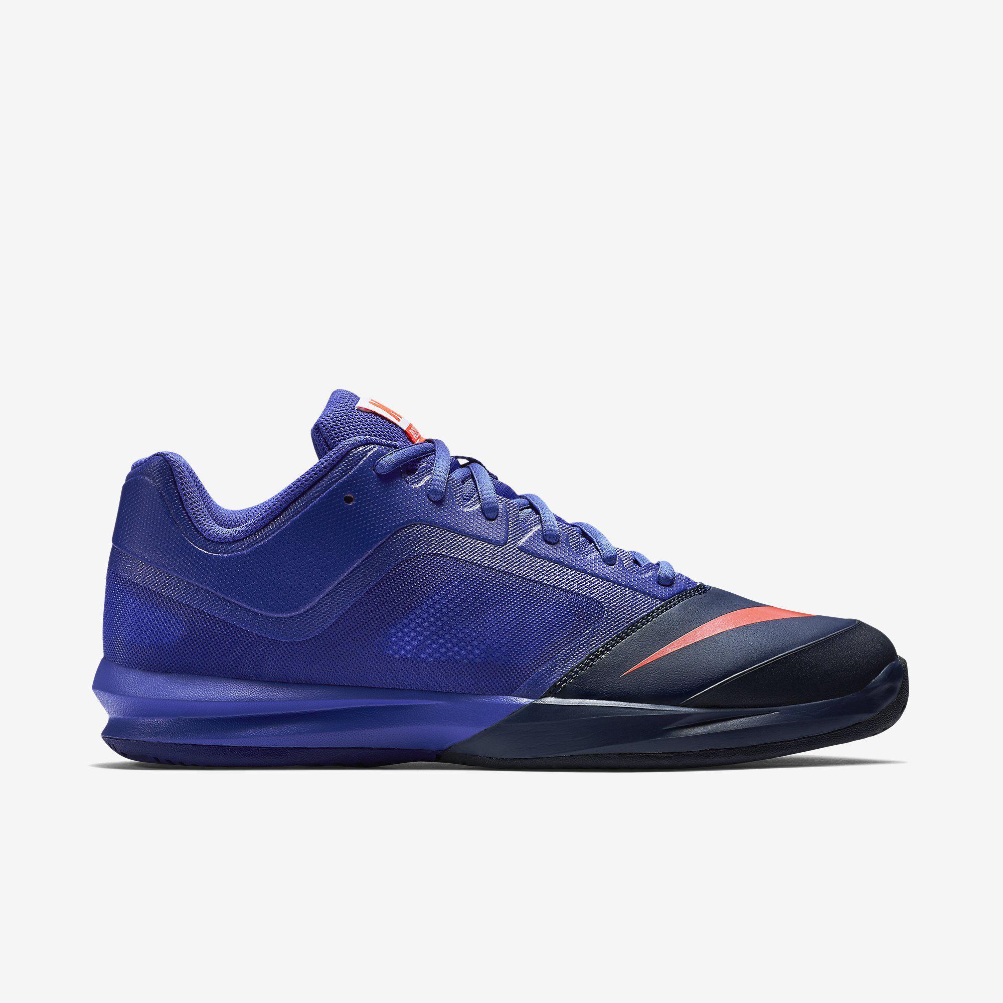 05929cfb8b1118 Nike Mens Dual Fusion Ballistec Advantage Tennis Shoes - Persian Violet Midnight  Navy - Tennisnuts.com