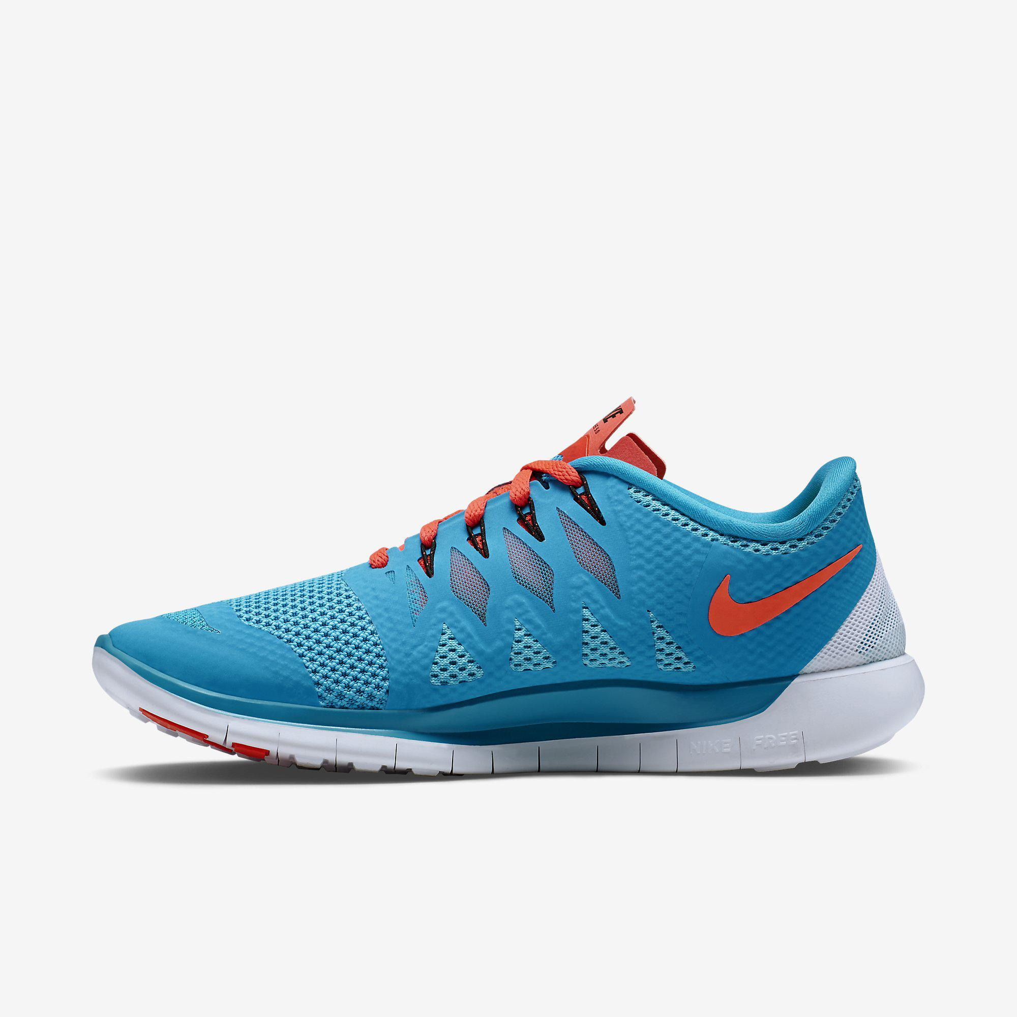 Bright Blue Nike Running Shoes