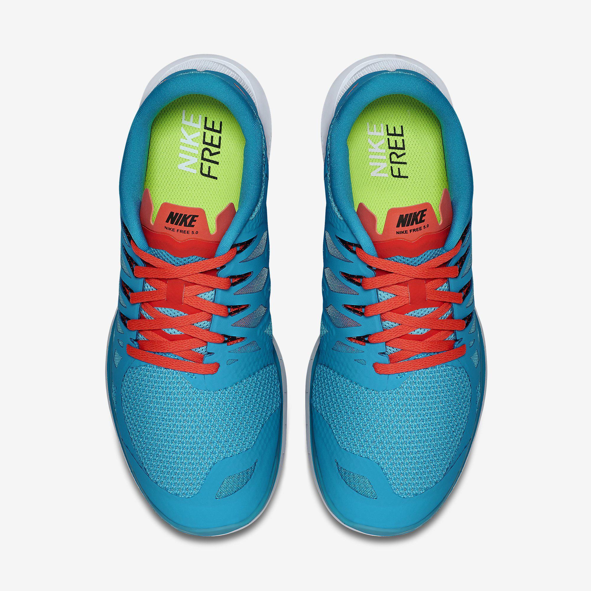 4a8f07c3c125 ... release date nike mens free 5.0 running shoes blue lagoon bright  crimson 1944d 8054d