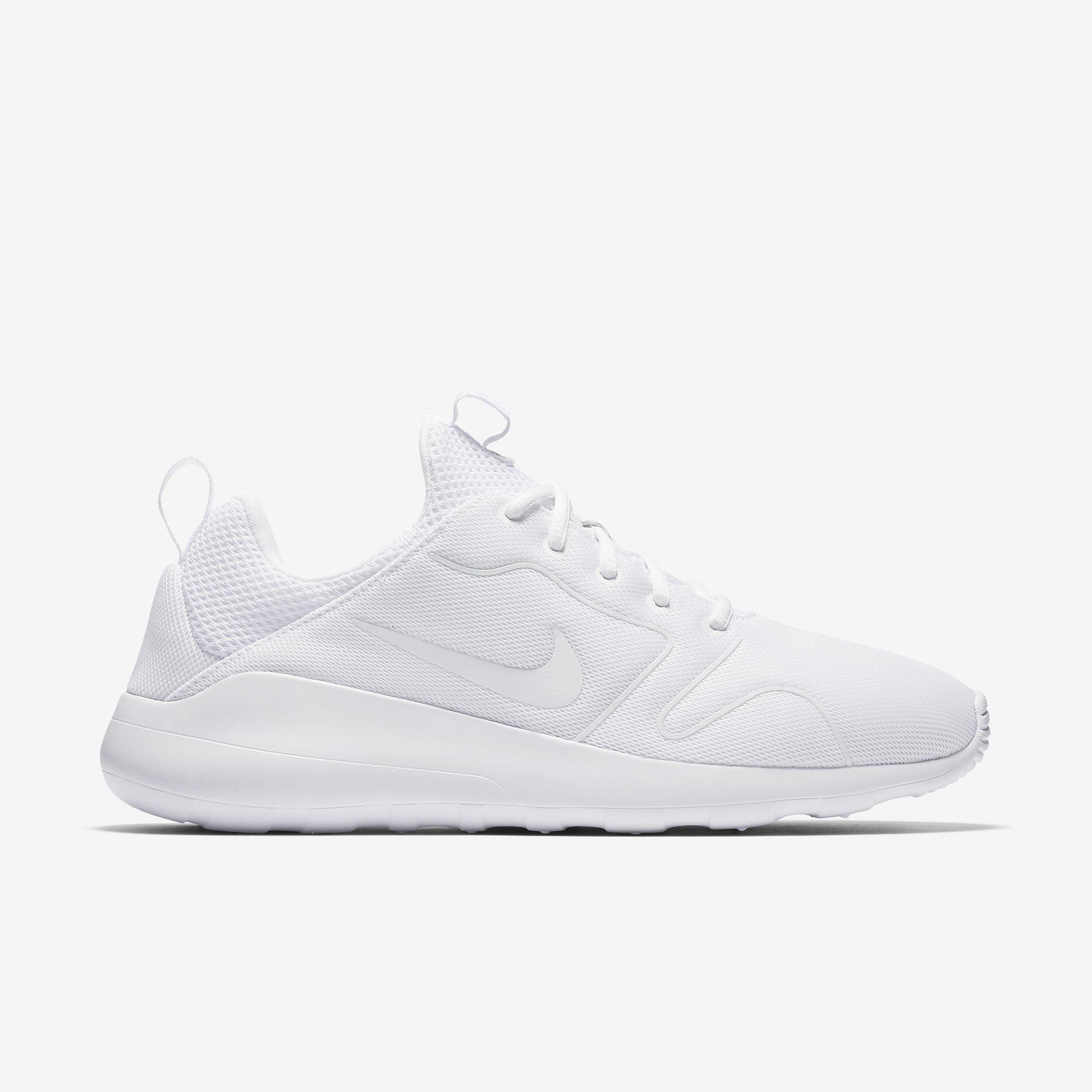 Nike Mens Kaishi 2.0 Running Shoes - White - Tennisnuts.com