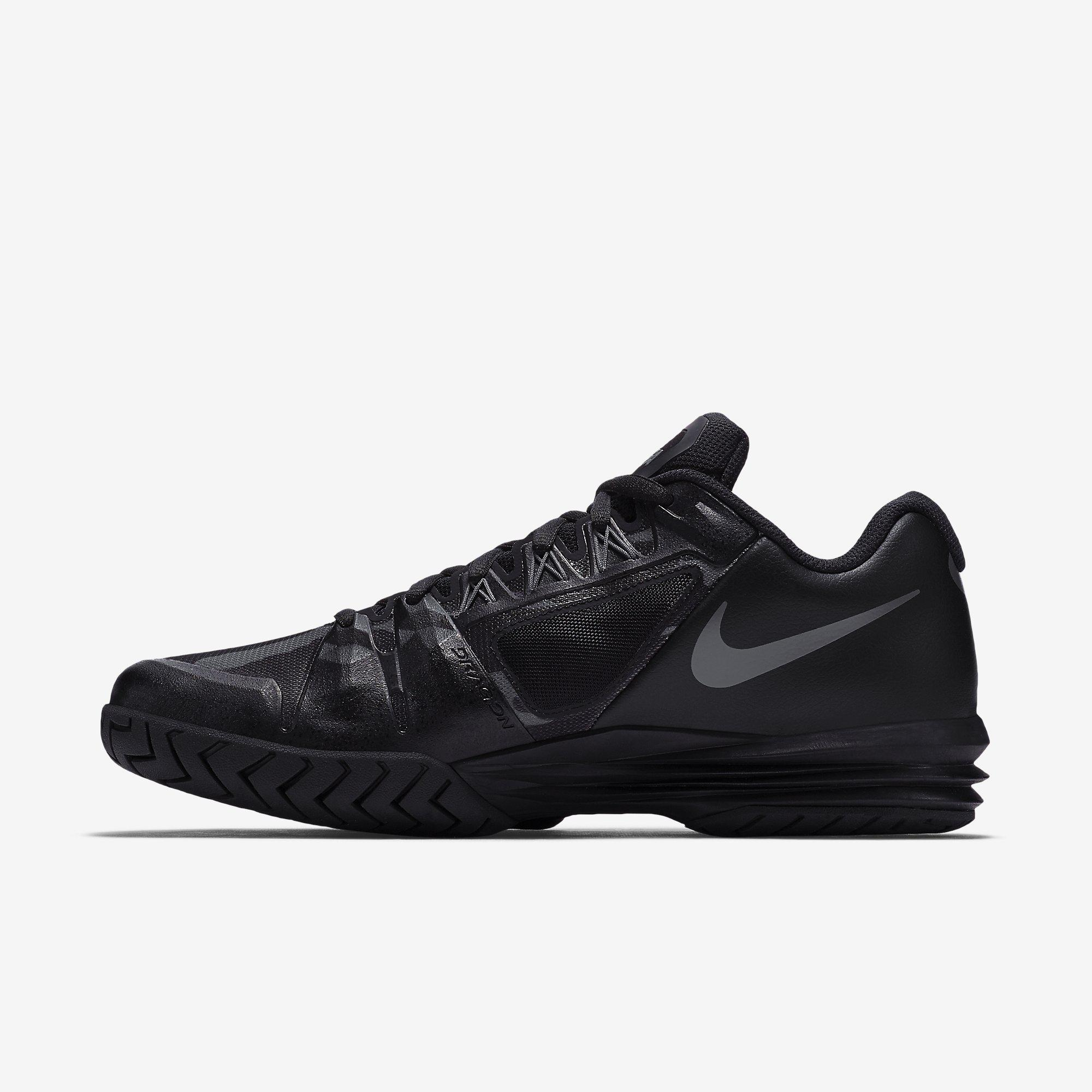 best website 770b6 876fc ... 705285-602. size chart  Nike Mens Lunar Ballistec 1.5 Legend Tennis  Shoes - BlackAnthracite ...