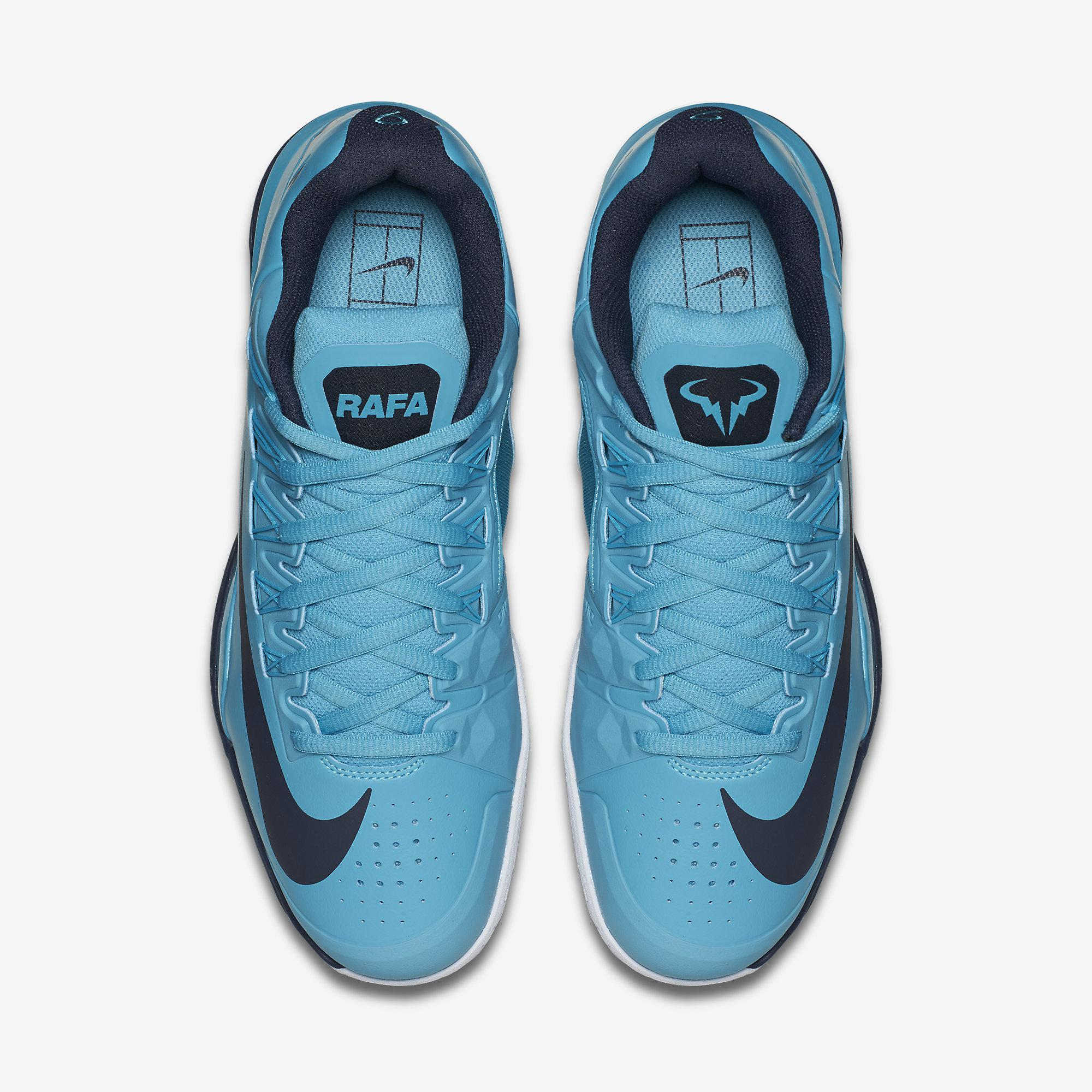 new arrival b80bb 496db Nike Mens Lunar Ballistec 1.5 LG Tennis Shoes - Omega Blue