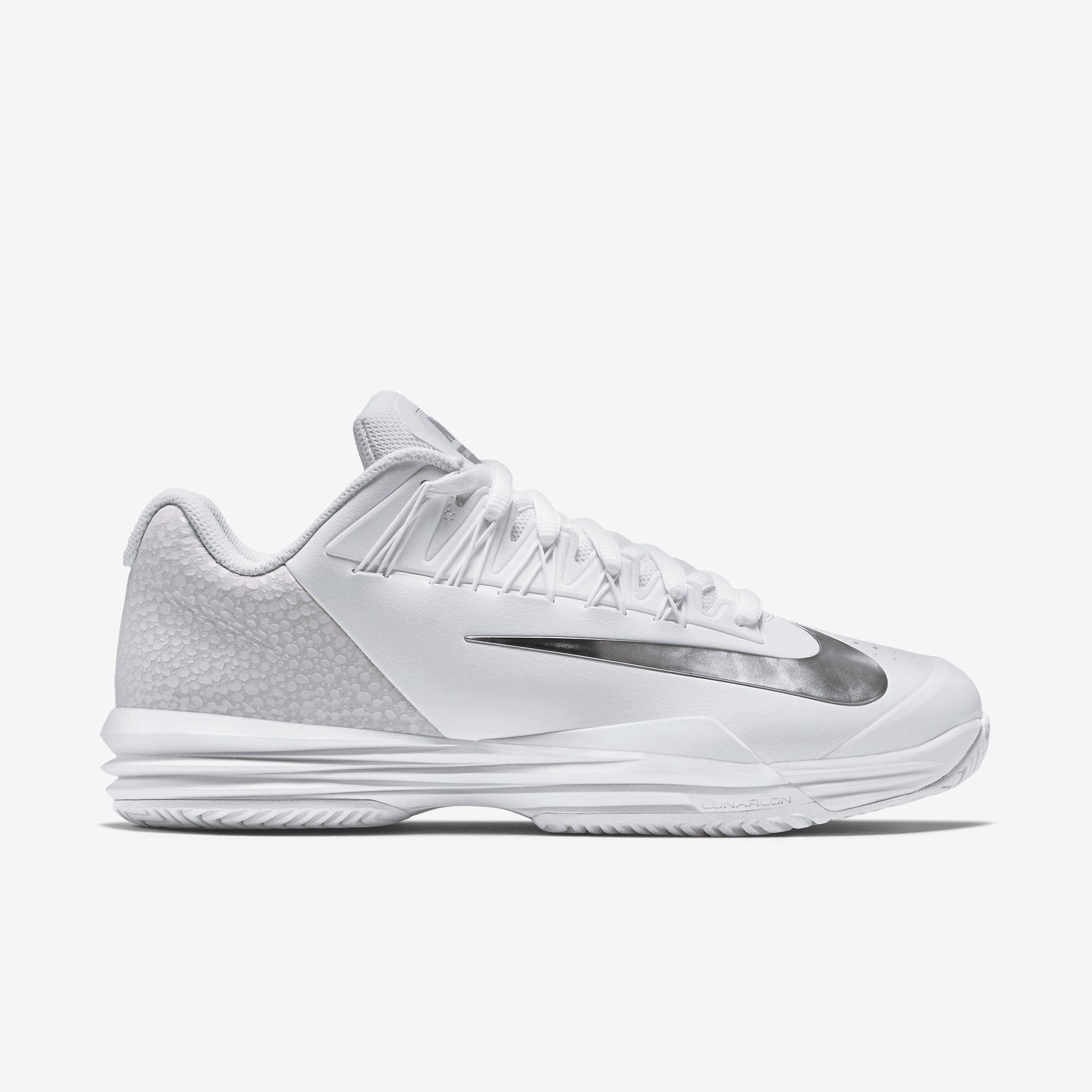 Nike Mens Lunar Ballistec 1.5 Safari Tennis Shoes - White [Limited Edition]