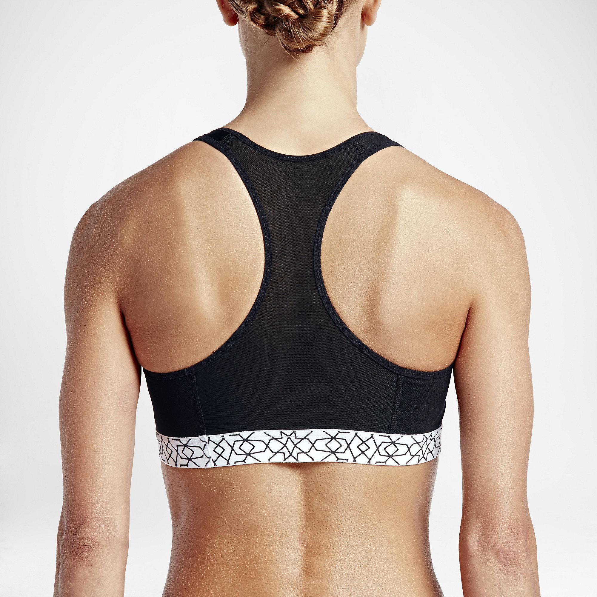 337774d6b02ac Nike Pro Fierce Starglass Print Bra - Black - Tennisnuts.com