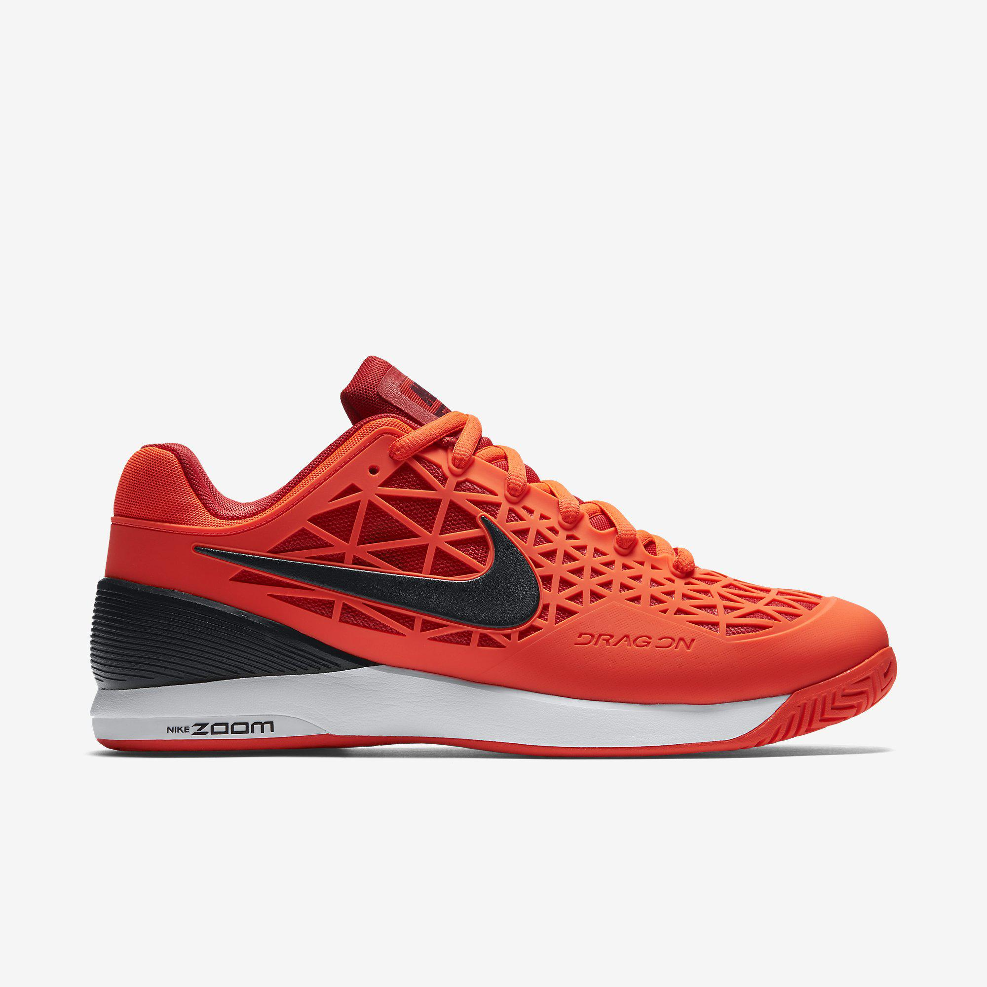 Nike Mens Zoom Cage 2 Tennis Shoes - Total Crimson - Tennisnuts.com ae9e34f58