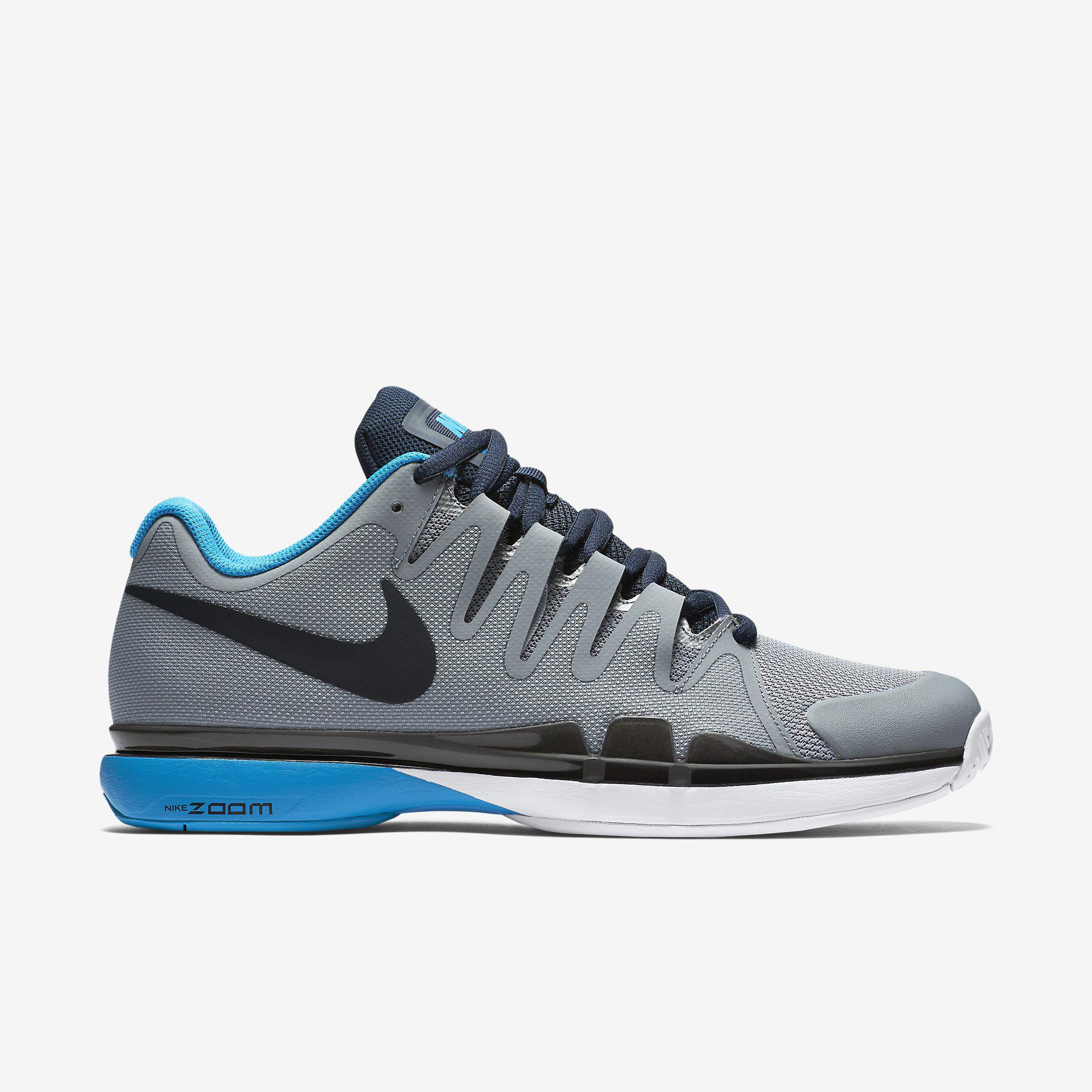 todas las tallas aaa descuento Nike Zoom Vapor Para Hombre Zapatillas De Tenis 9.5 Turísticos - Gris / Azul vn3yaY