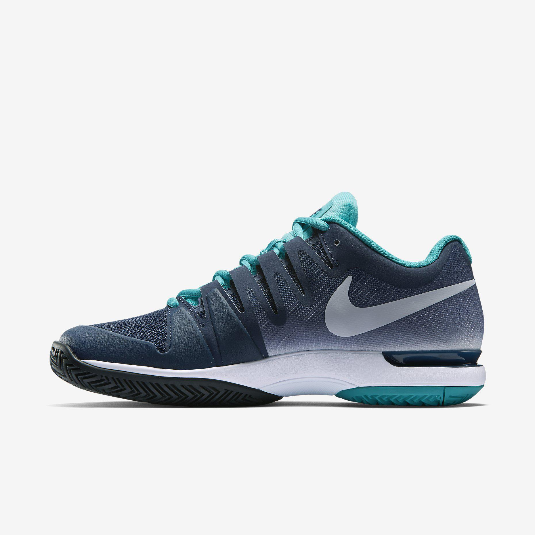 Out Of Stock. Nike Mens Zoom Vapor 9.5 Tour Tennis Shoes - Midnight Navy ...