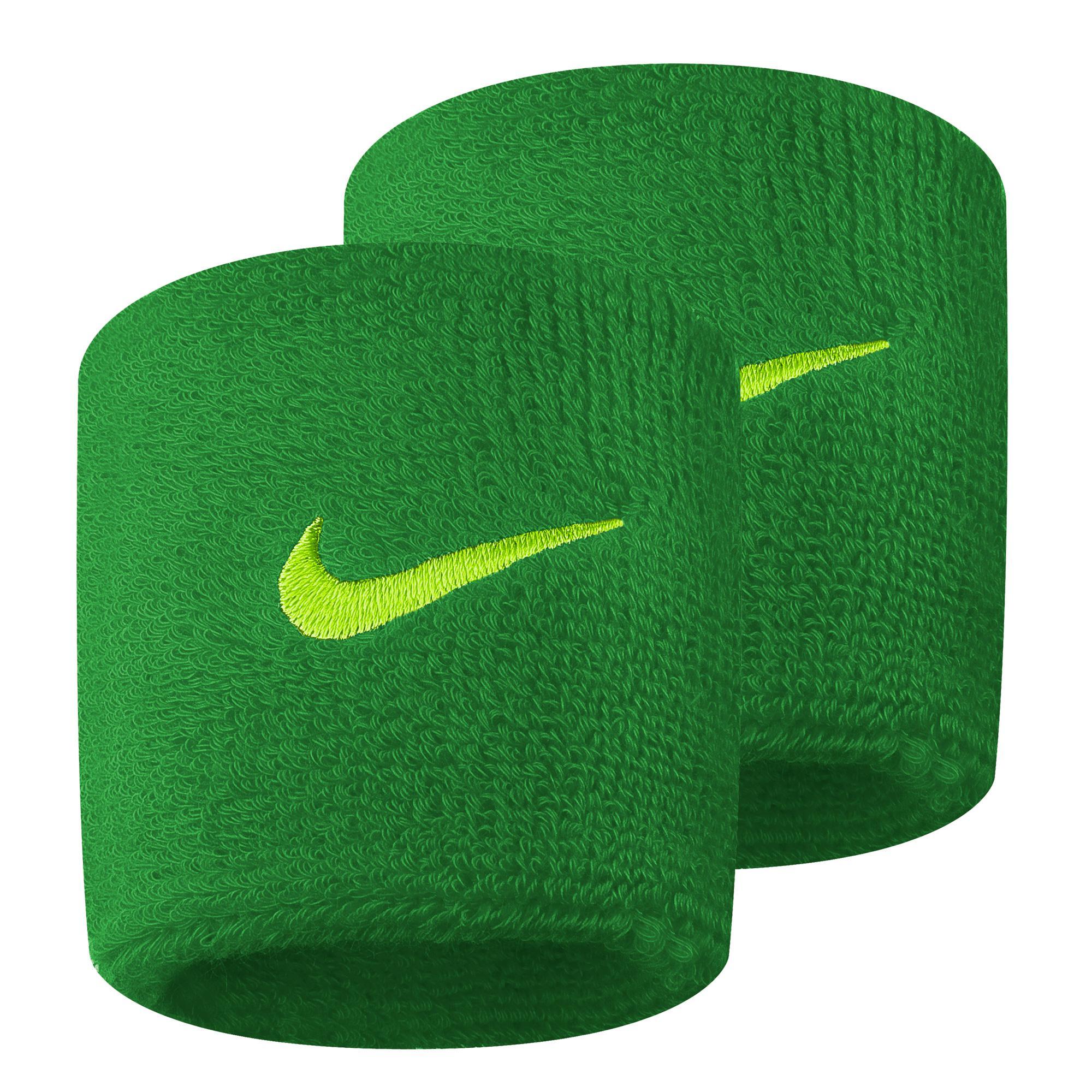 nike swoosh wristband green tennisnutscom