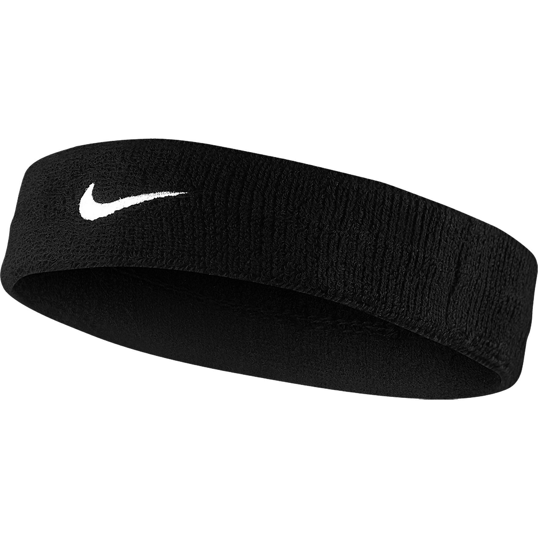 Nike Swoosh Headband - Black - Tennisnuts.com