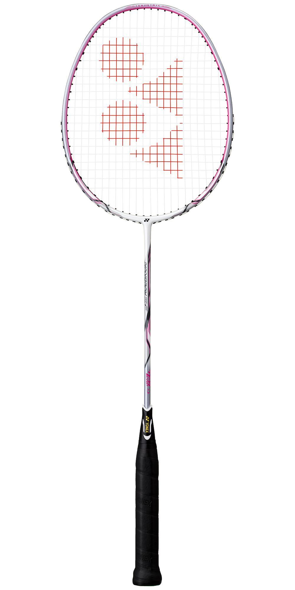 Yonex Nanoray 10F Badminton Racket - White/Pink ...
