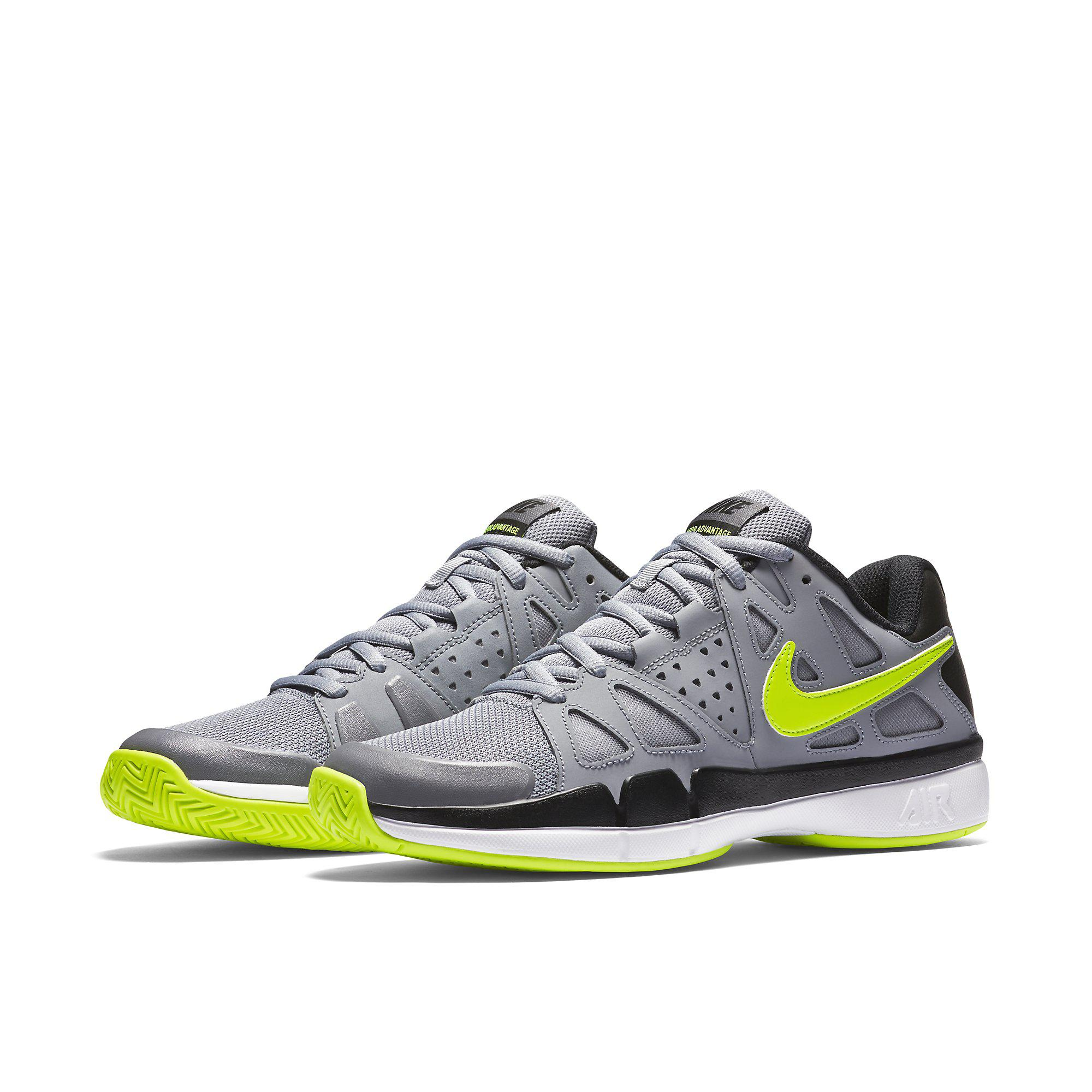 nike mens air vapor advantage tennis shoes stealth grey