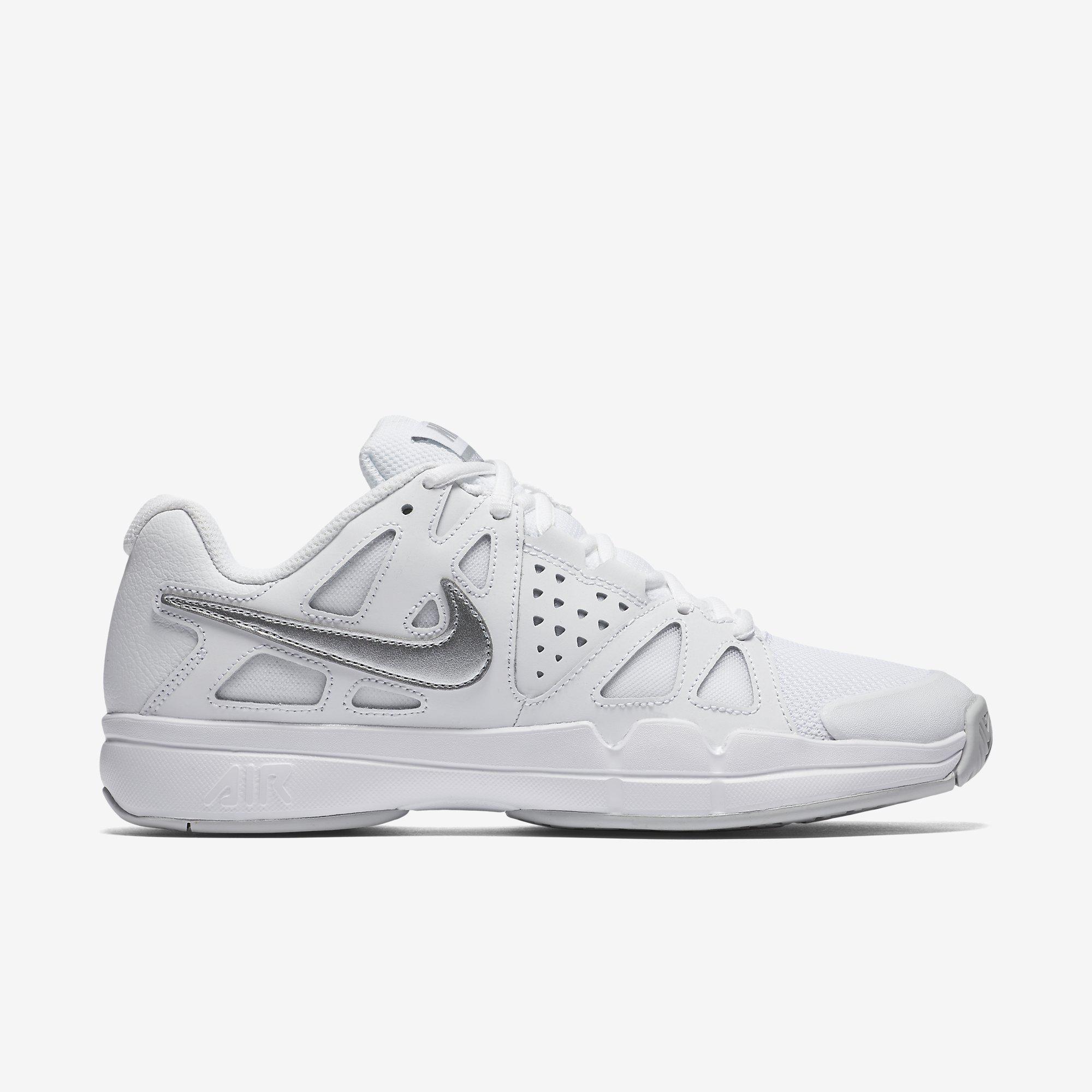 b633dee72201 Nike Womens Air Vapor Advantage Tennis Shoes - White - Tennisnuts.com
