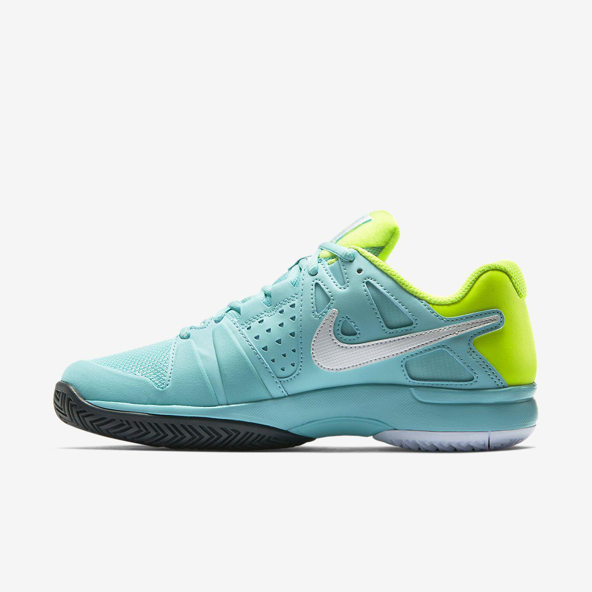 nike tennis shoes aqua
