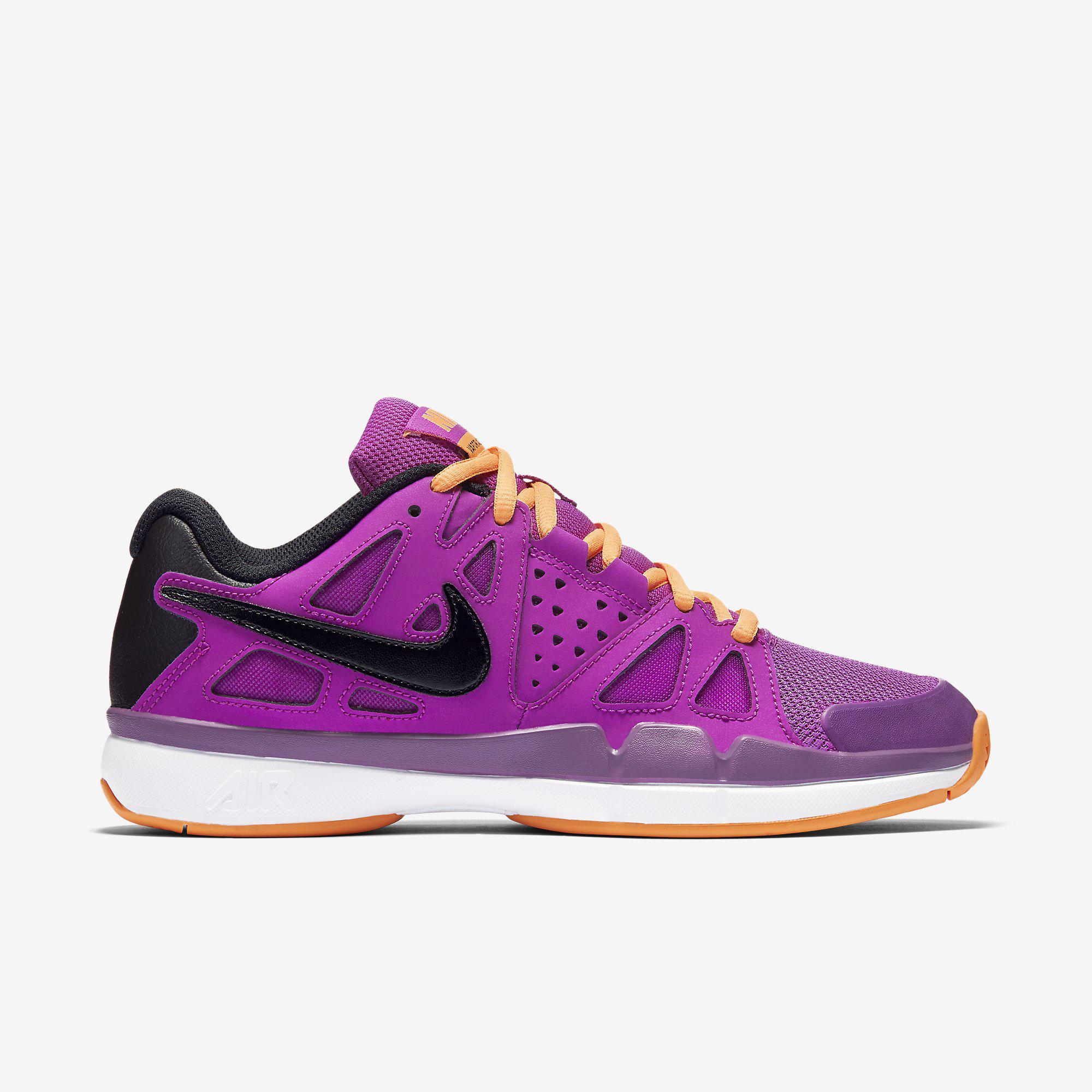 Nike Womens Air Vapor Advantage Tennis Shoes - Hyper Violet - Tennisnuts.com