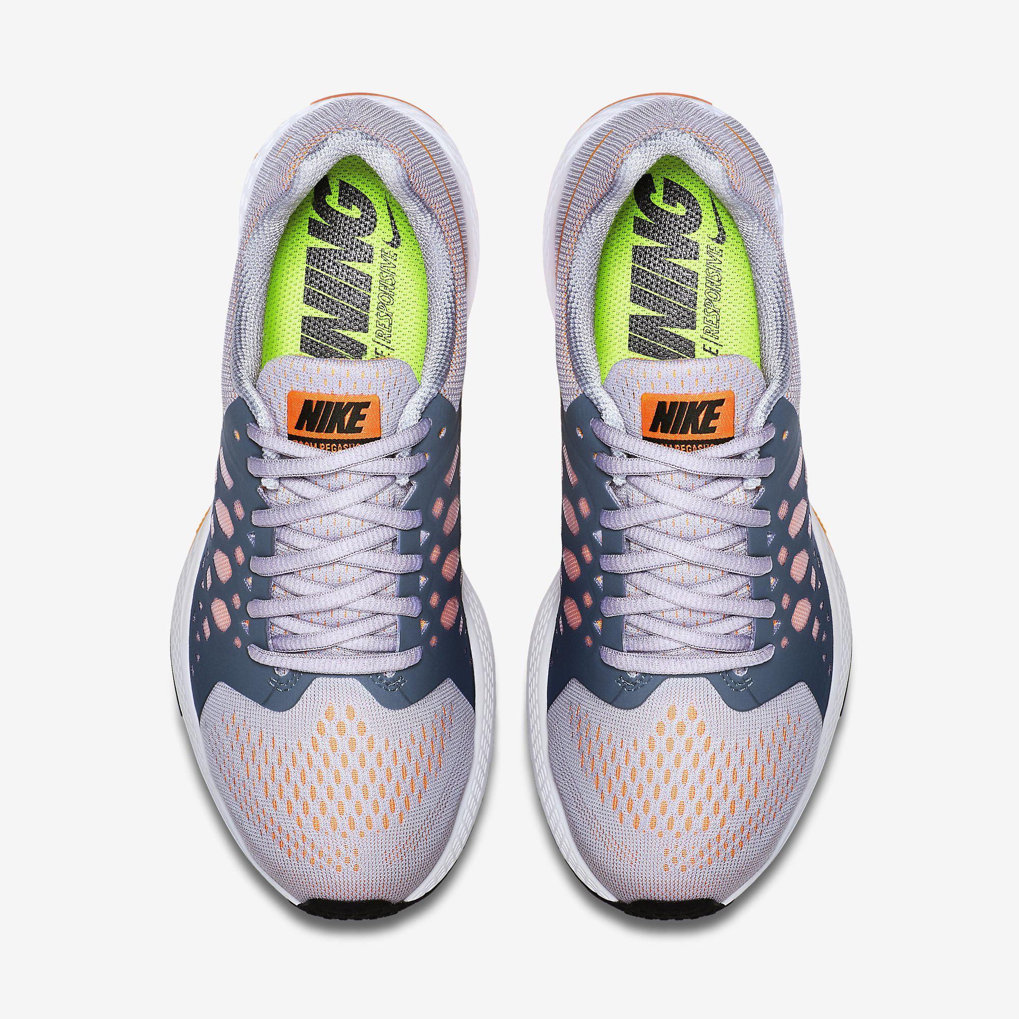 Nike Womens Air Zoom Pegasus+ 31 Running Shoes - Titanium