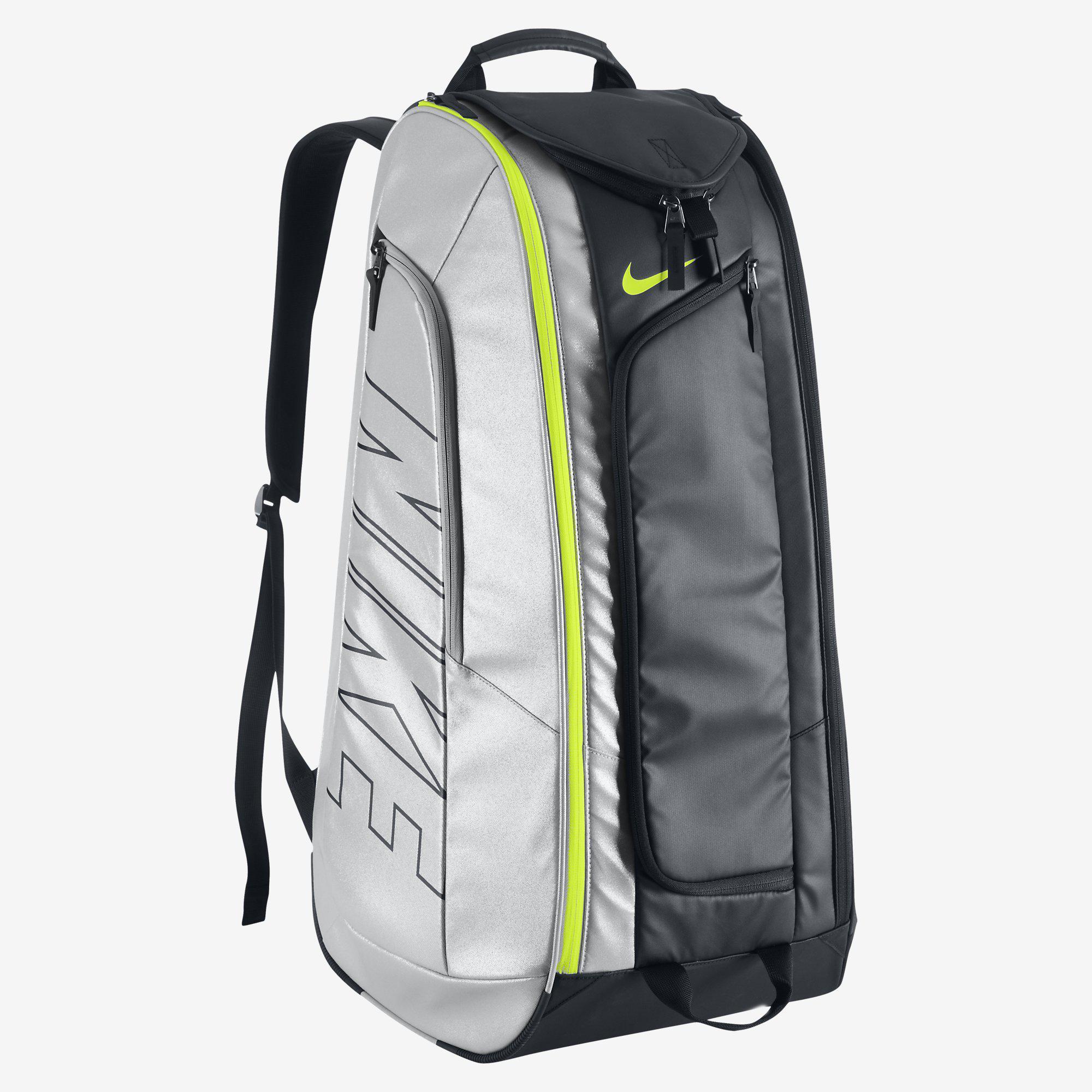 Nike Court Tech 1 Racket Bag - Black/Silver