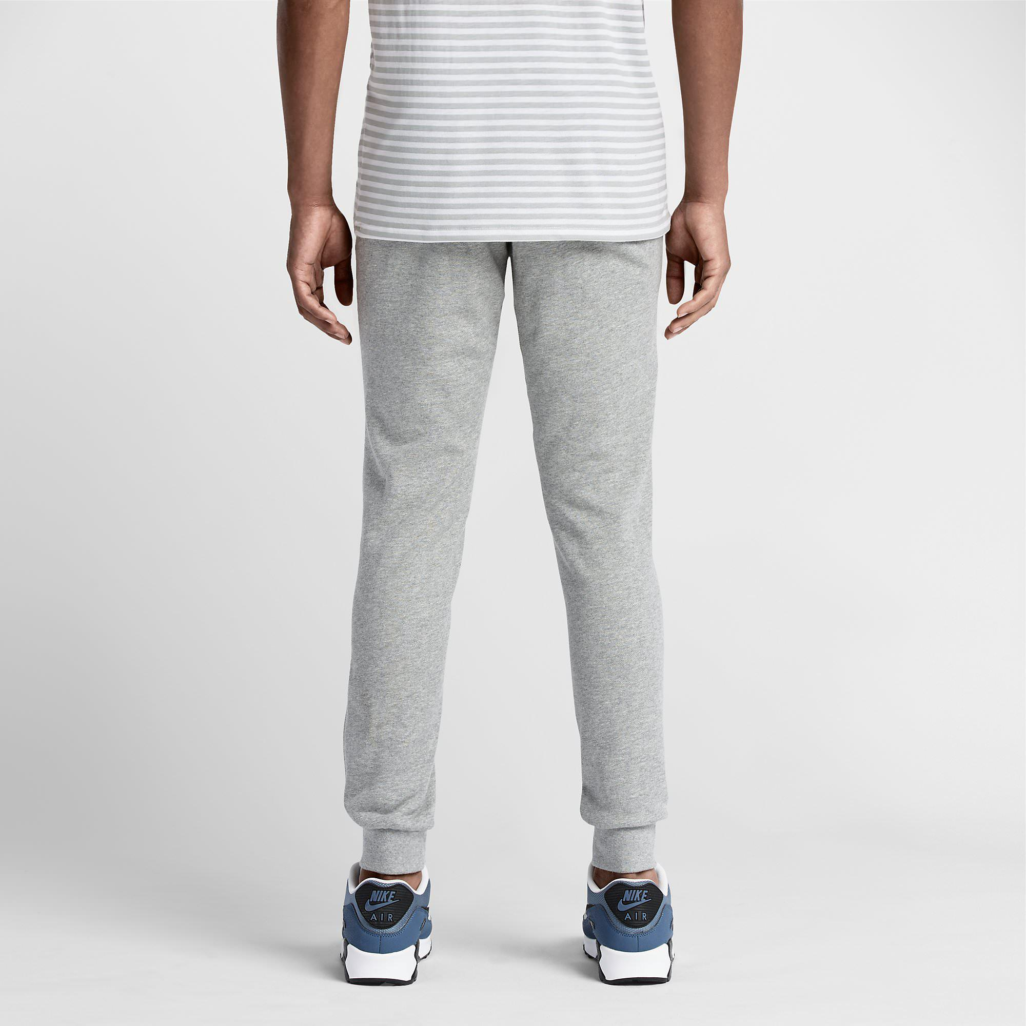 Nike Mens Intentional Cuffed Trousers - Grey Heather