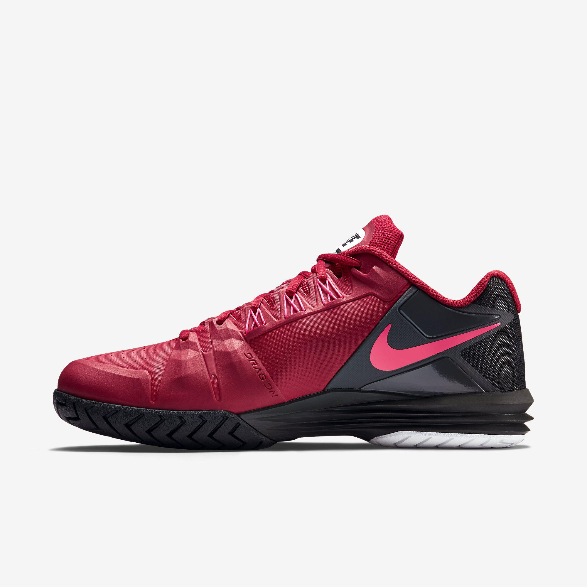 Out Of Stock. Nike Mens Lunar Ballistec Tennis Shoes - Gym Red/Black · Nike  Mens ...