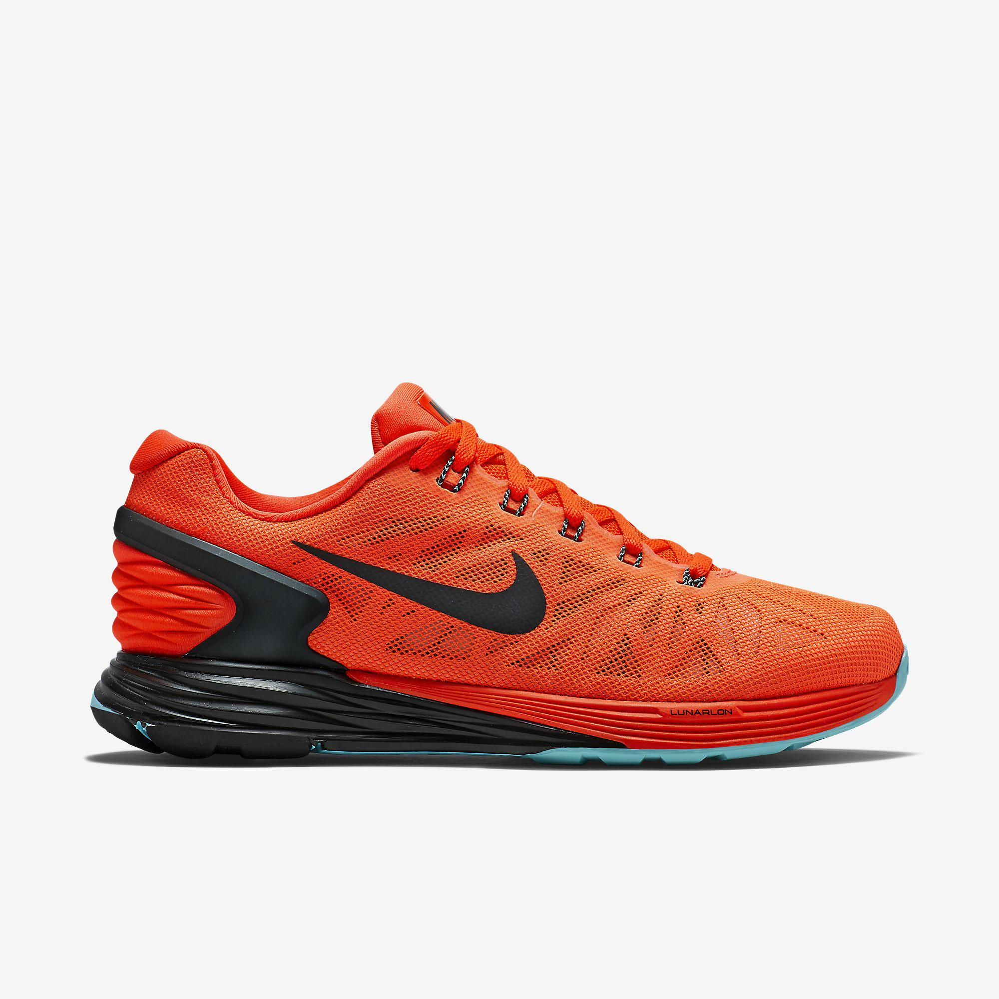 nike womens lunarglide 6 running shoes  bright crimson