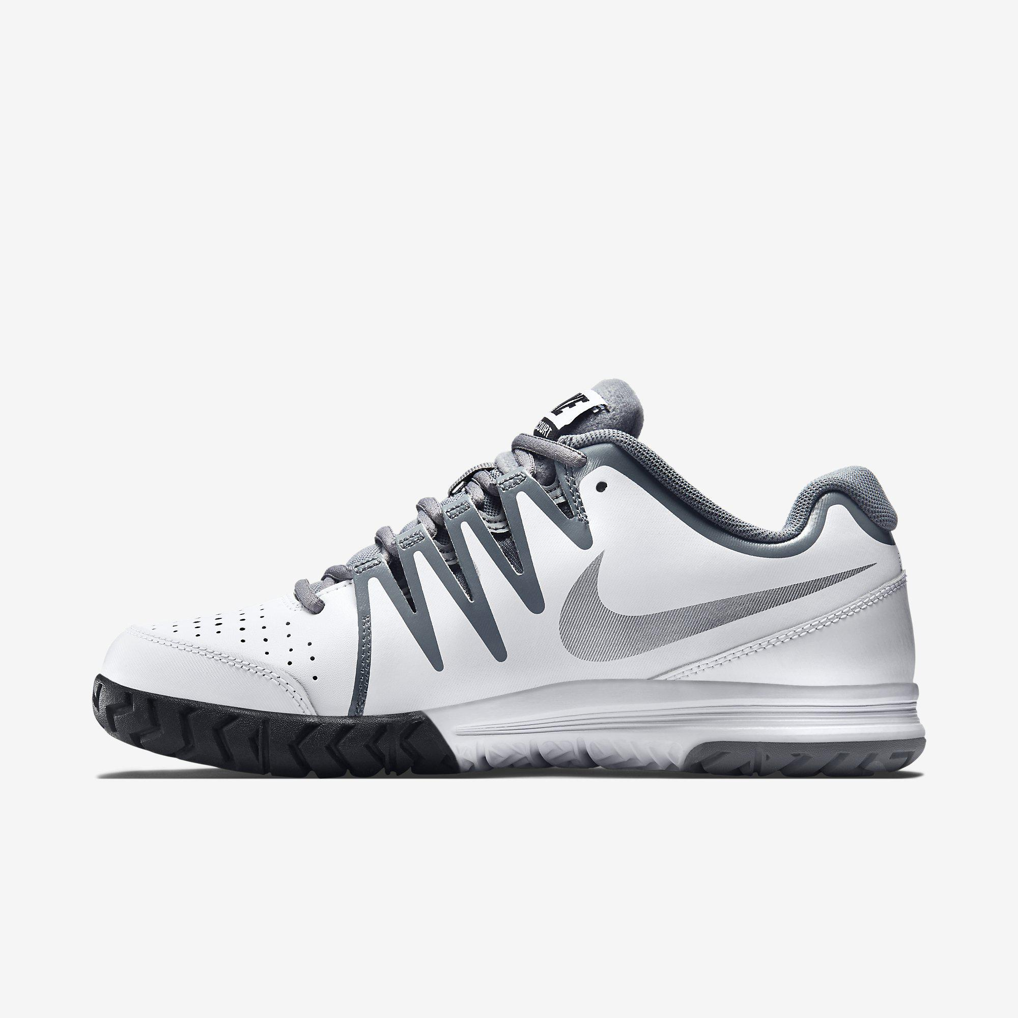 f39f5320c Nike Womens Vapor Court Tennis Shoes - White - Tennisnuts.com
