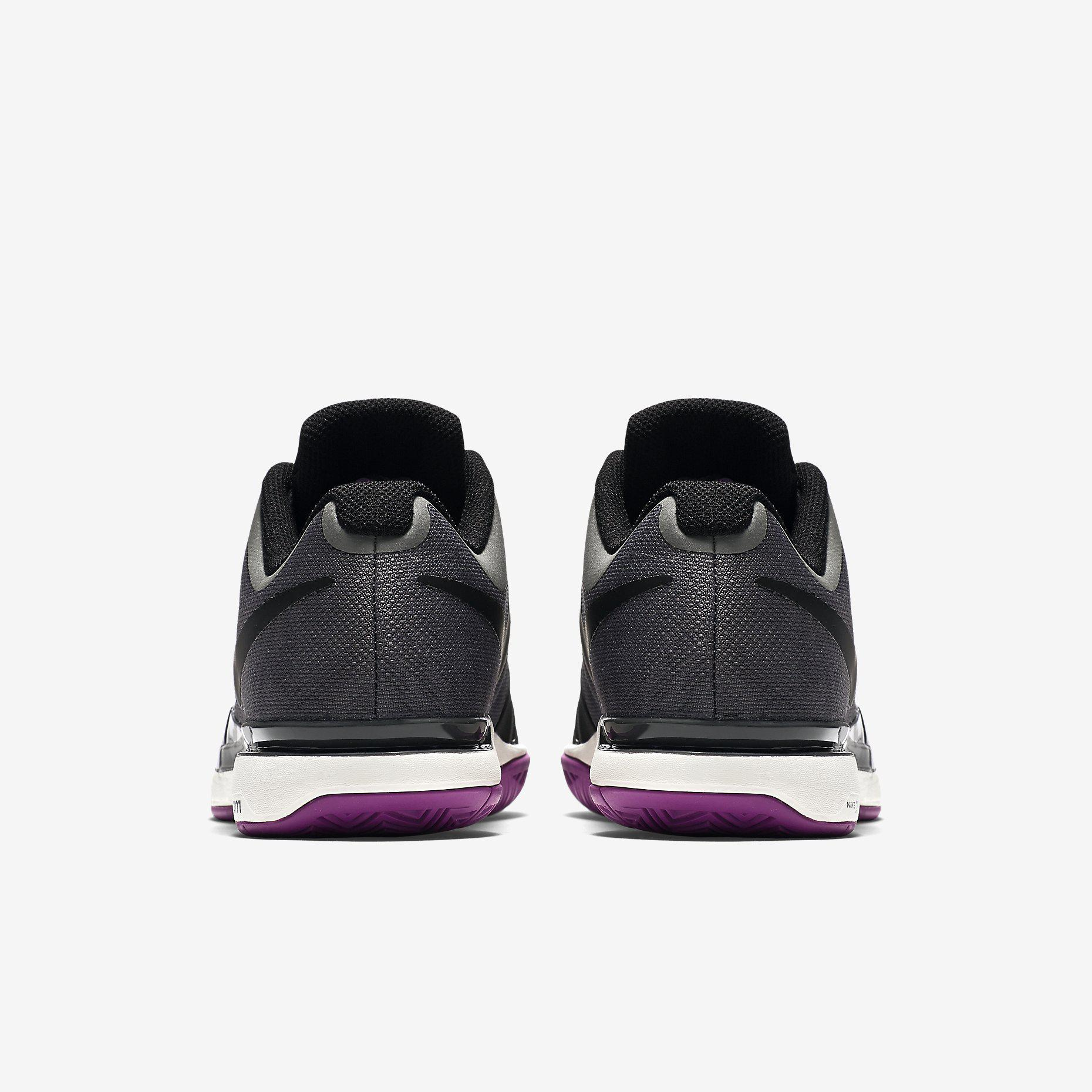 new product f07f2 e438c ... Nike Vapeur Zoom Femmes 9.5 Chaussures De Tennis - Minuit Couleur De  Brouillard Ce2XmTLgV
