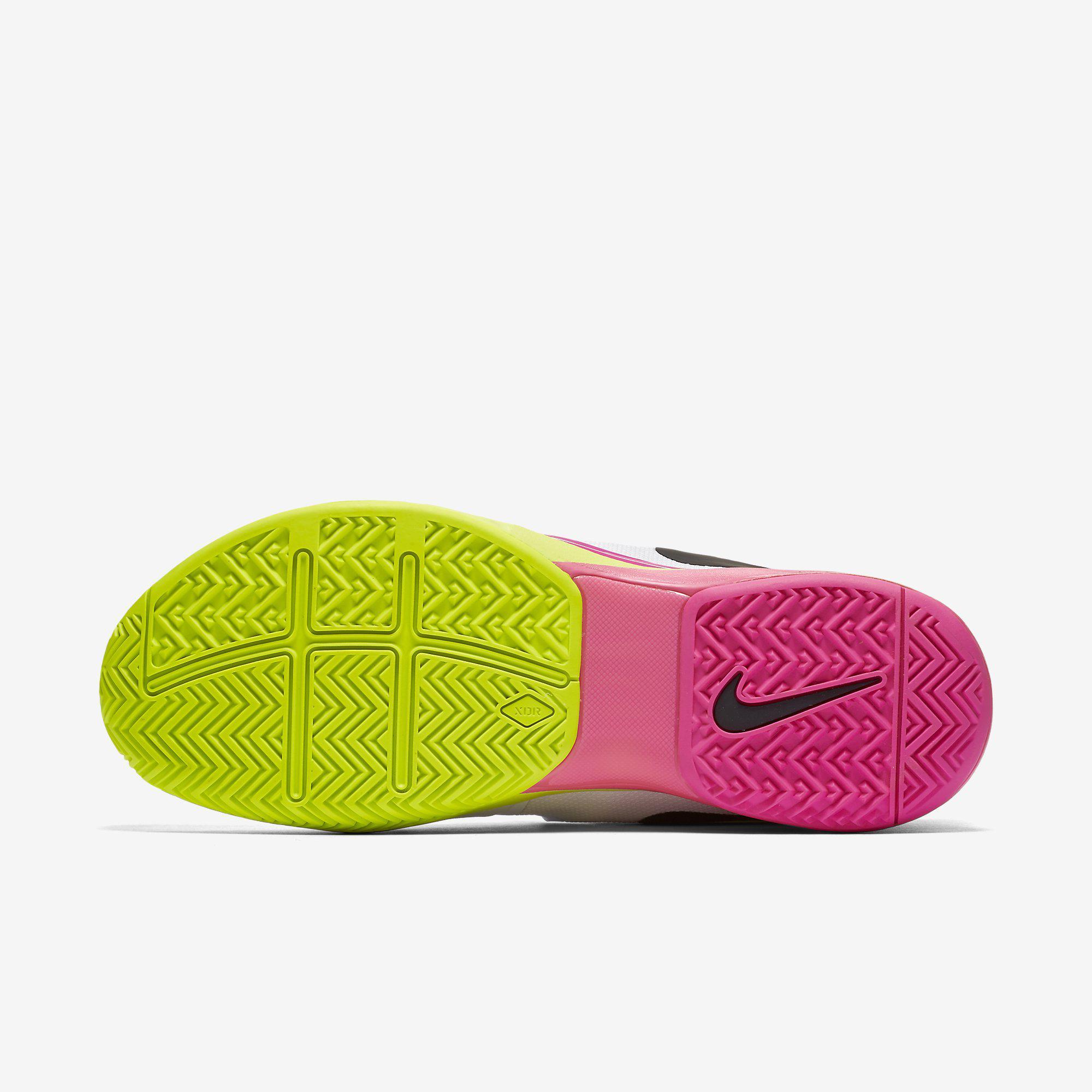 pink nike runners nike vapor 9.5 tennis shoes